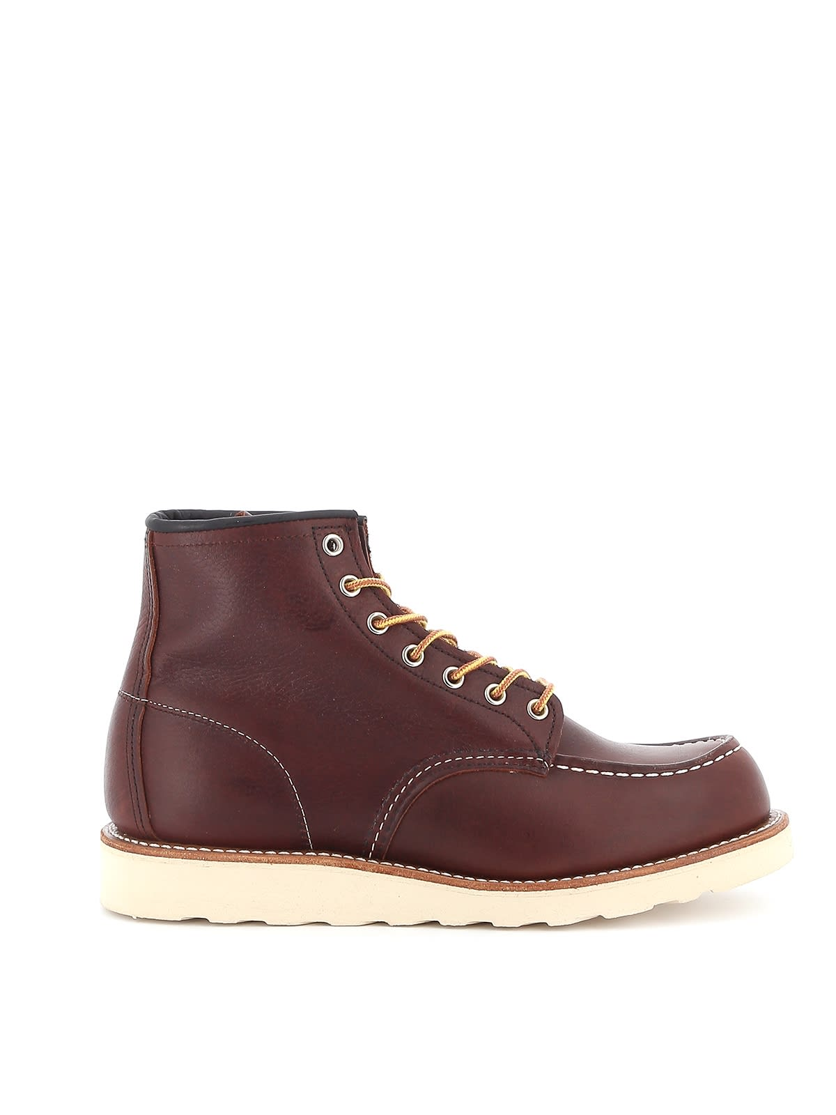 Red Wing Boot Leather Classic Moc Toe Briar Oil Slick