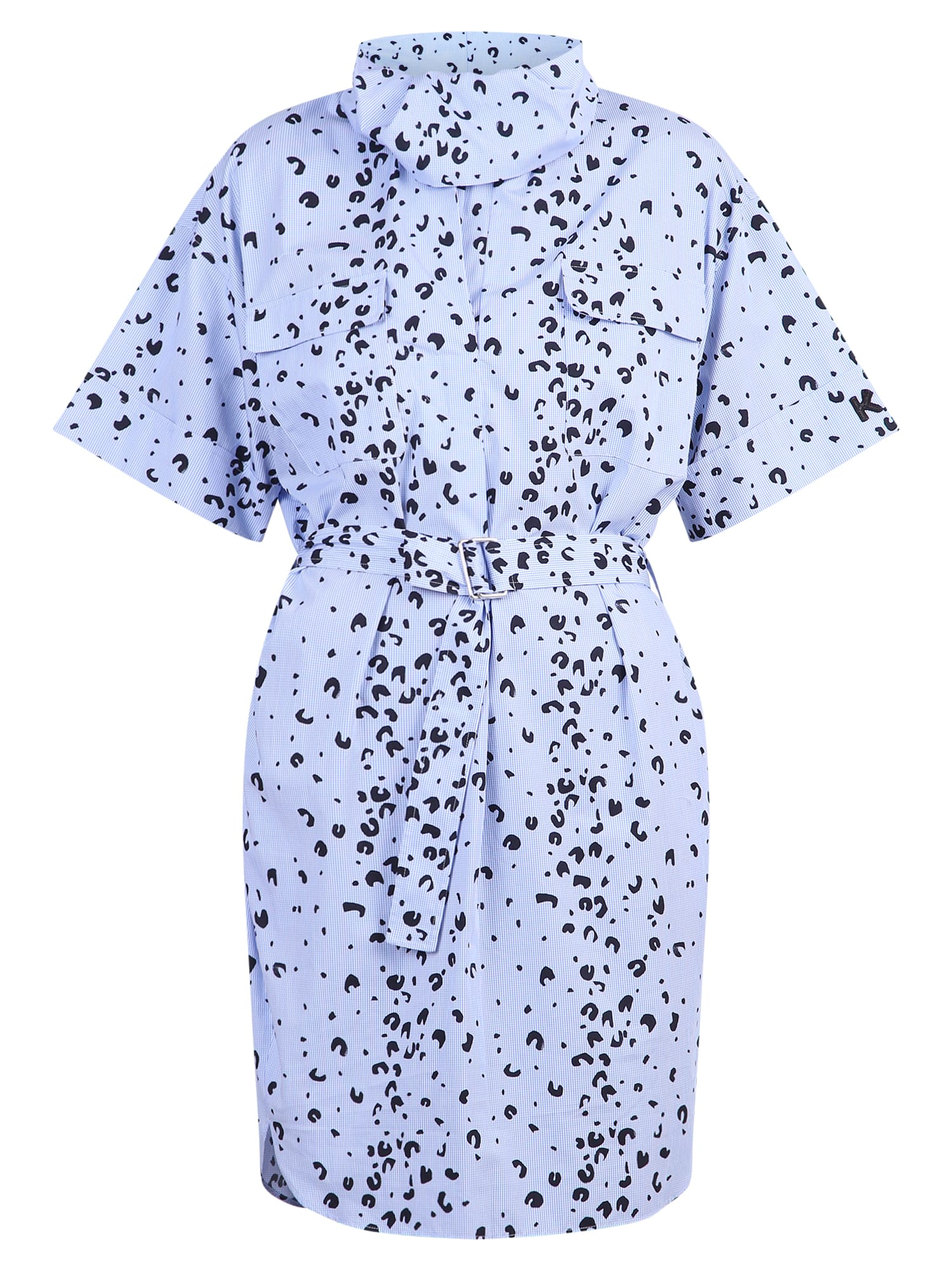 Buy Kenzo Printed Popeline Dress online, shop Kenzo with free shipping
