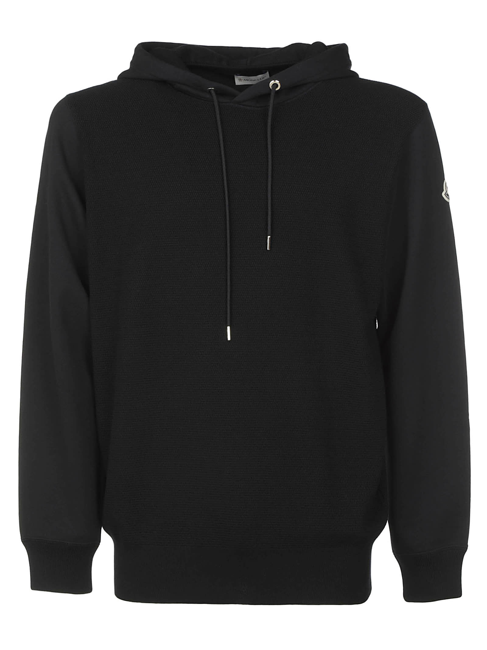 Moncler LOGO PATCHED HOODED SWEATSHIRT