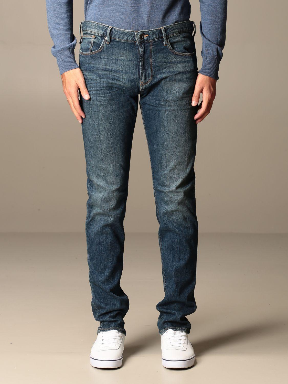 Emporio Armani Jeans Emporio Armani Slim Fit Stretch Jeans