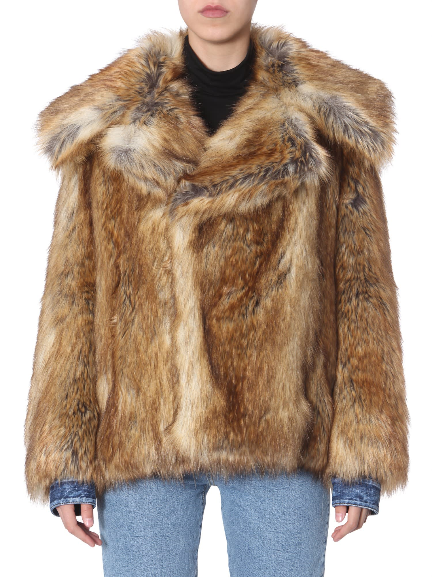 Dsquared2 Eco-fur Jacket