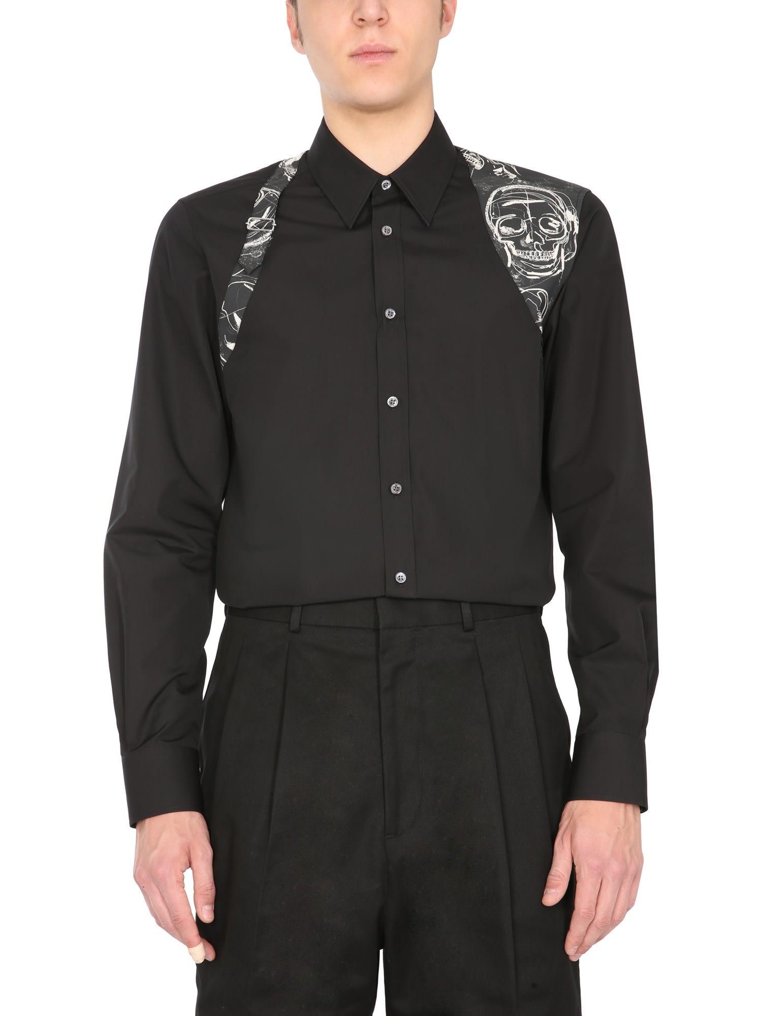 Alexander Mcqueen Shirts PRINTED SHIRT