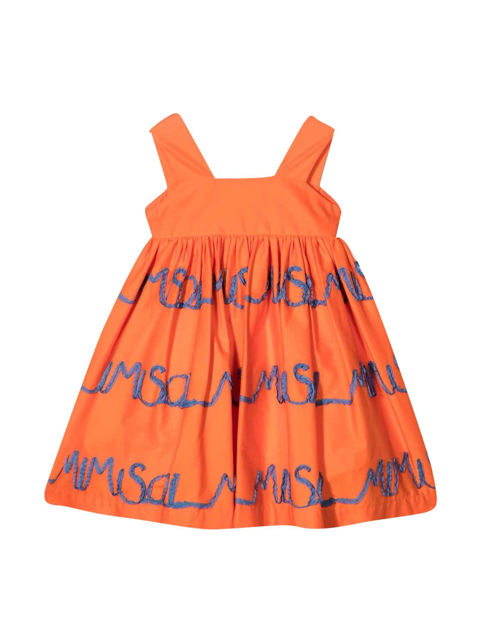 Mi Mi Sol Orange Dress