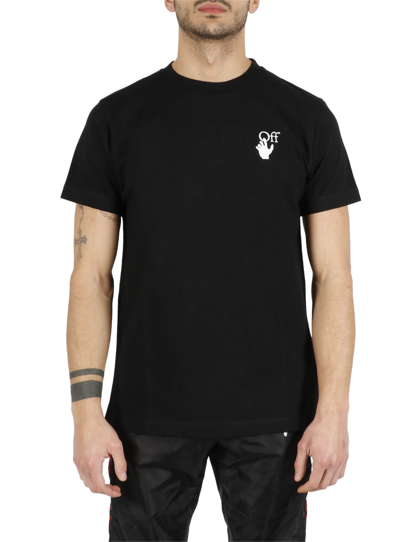 Off-White Cottons MARKER T-SHIRT