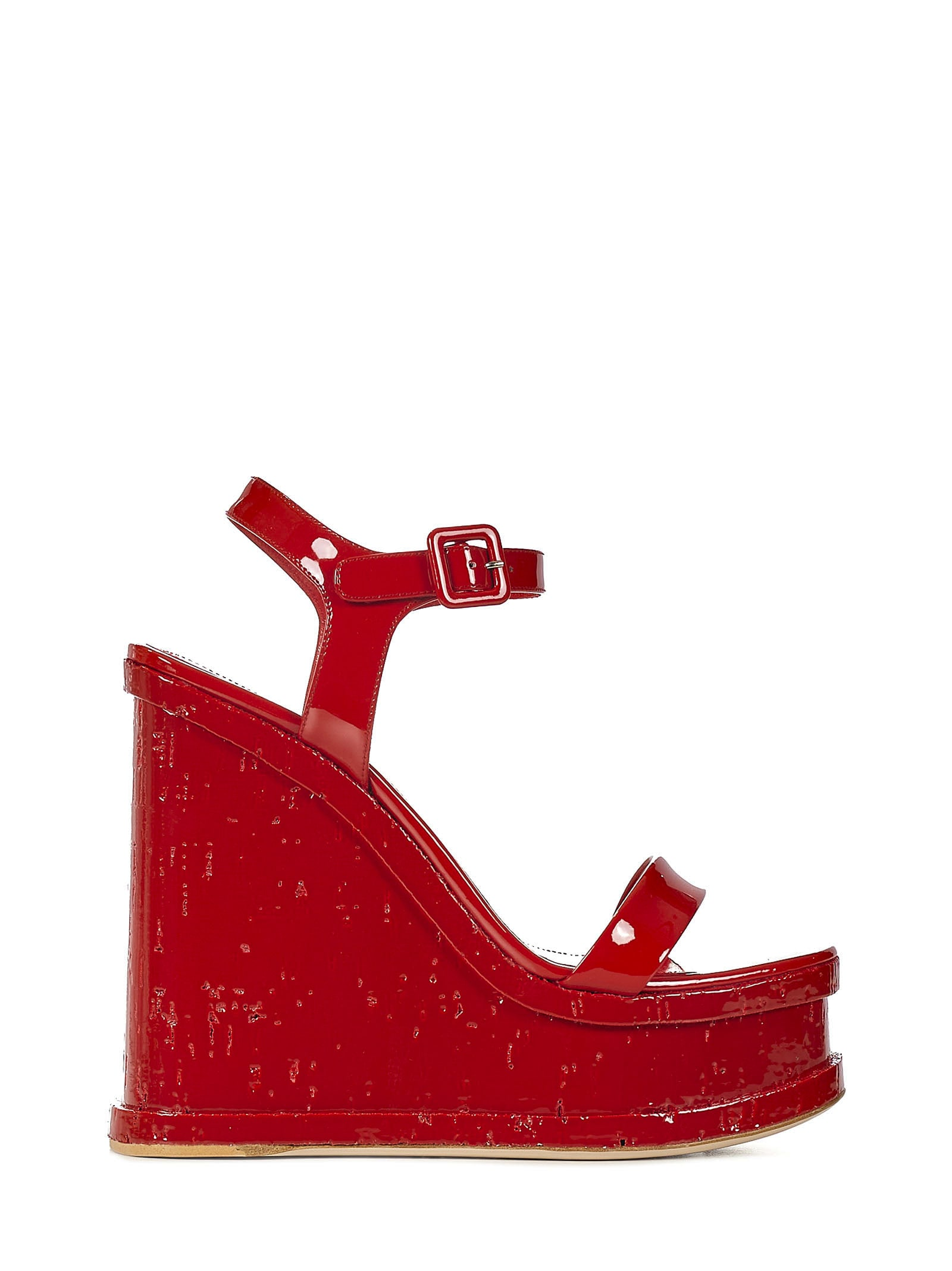 Lacquer Doll Sandals