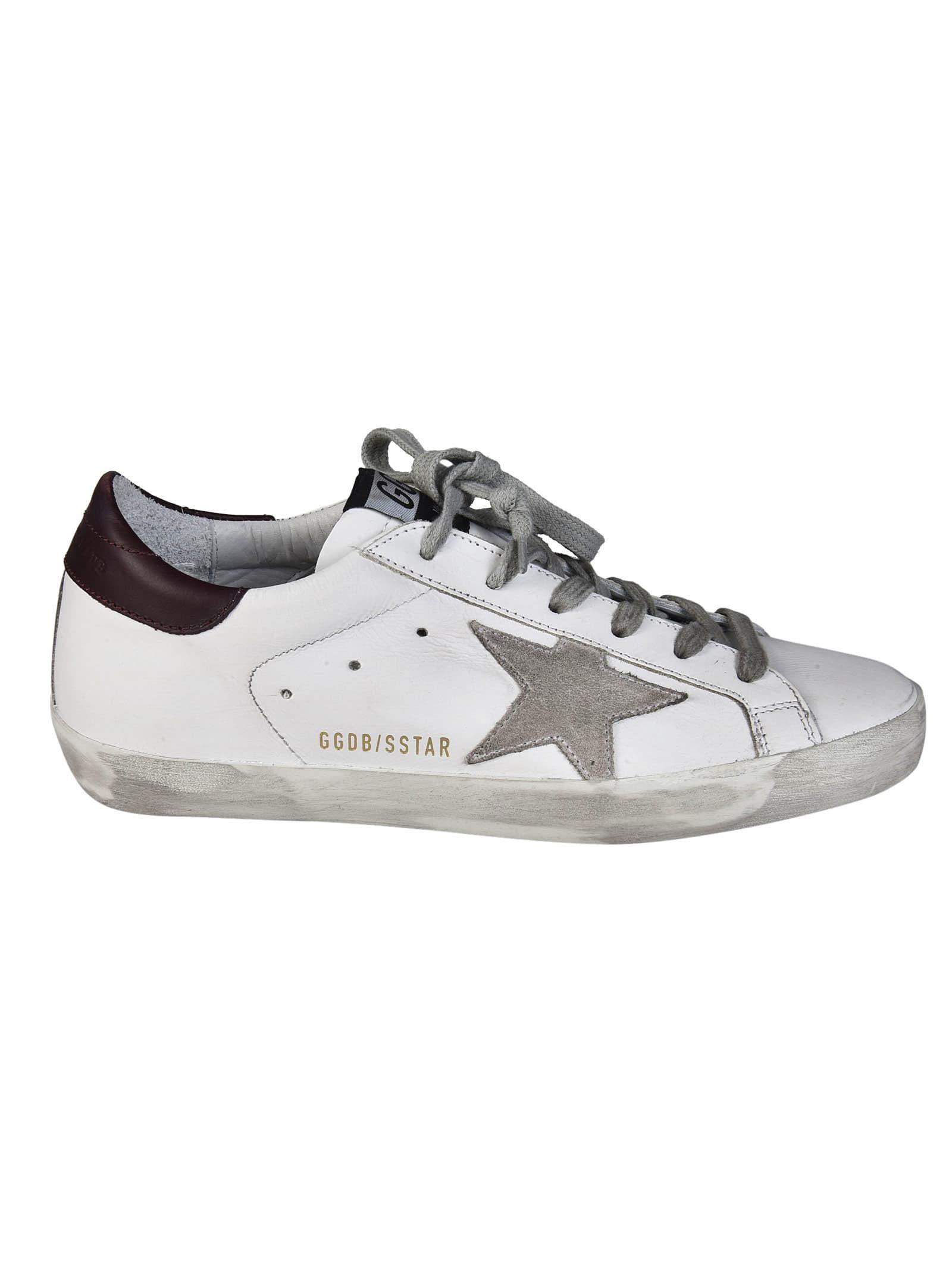 plus de photos f448b 07d79 Best price on the market at italist   Golden Goose Golden Goose Superstar  Sneakers