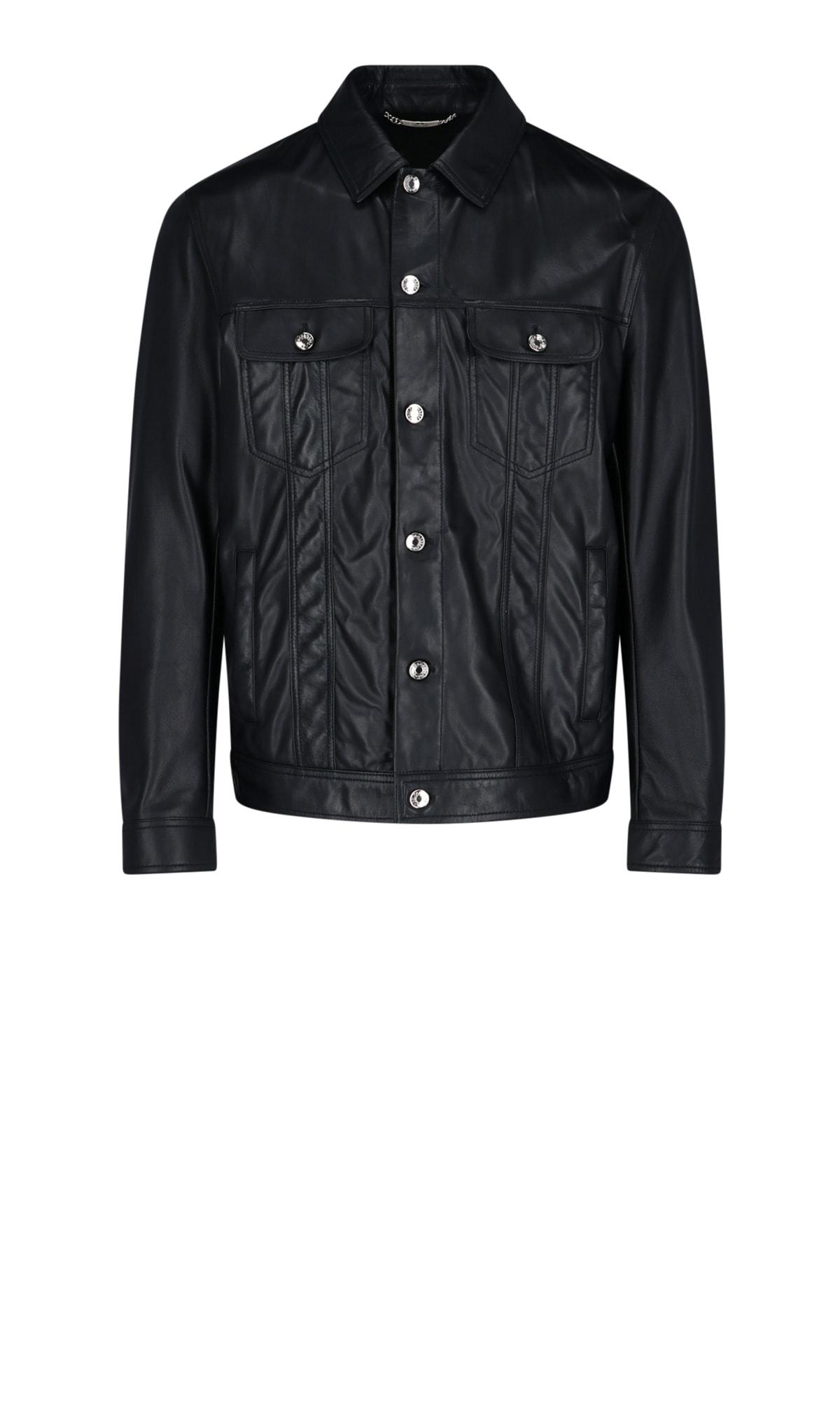 Dolce & Gabbana Leathers JACKET