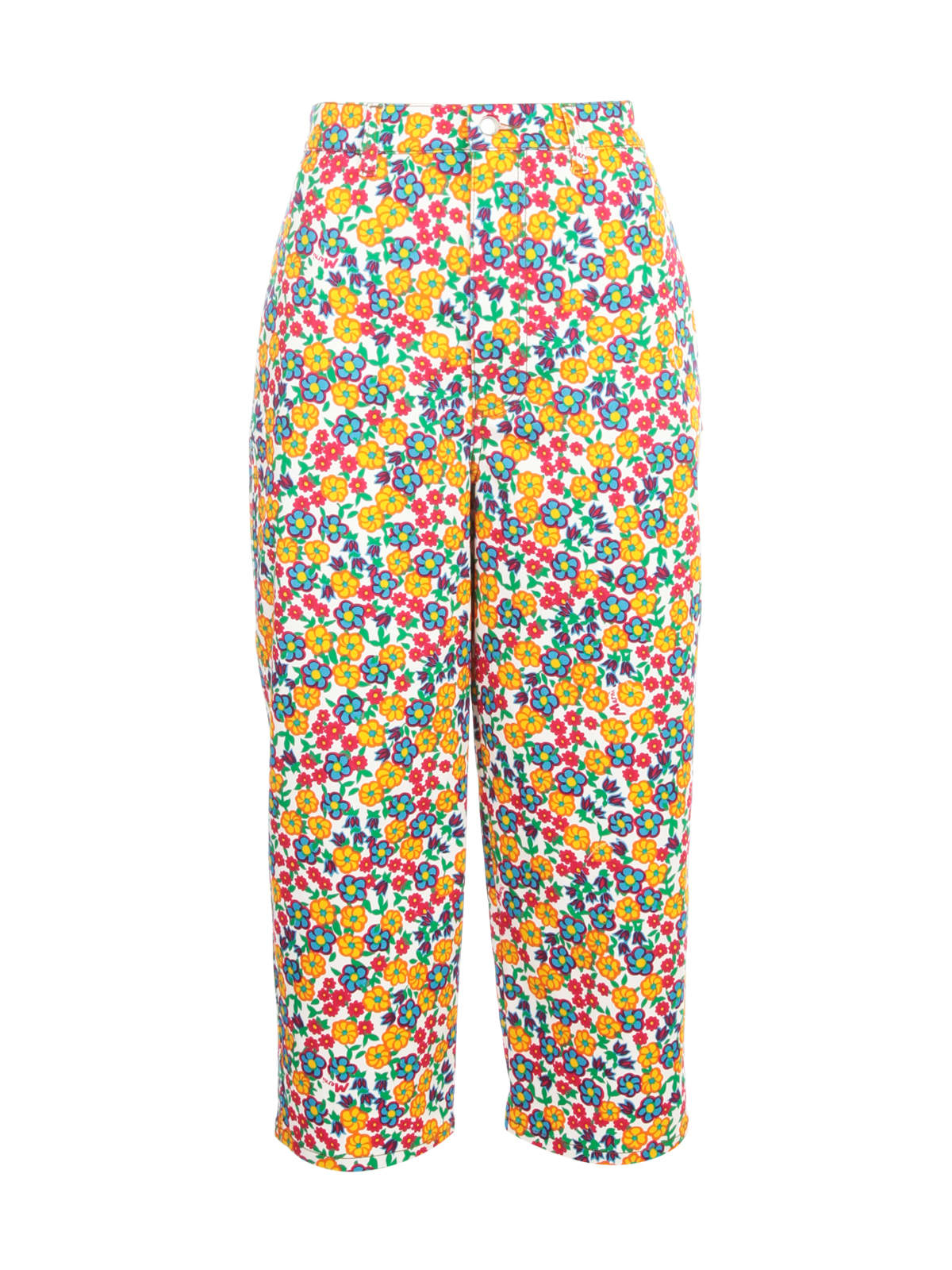 MARNI PANTS W/FLOWERS