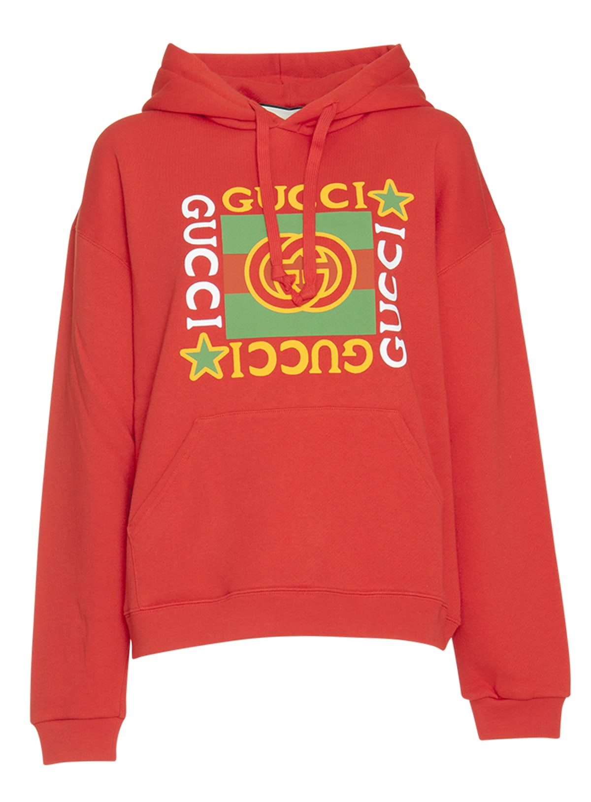 Gucci Hoodie With Logo Star Print