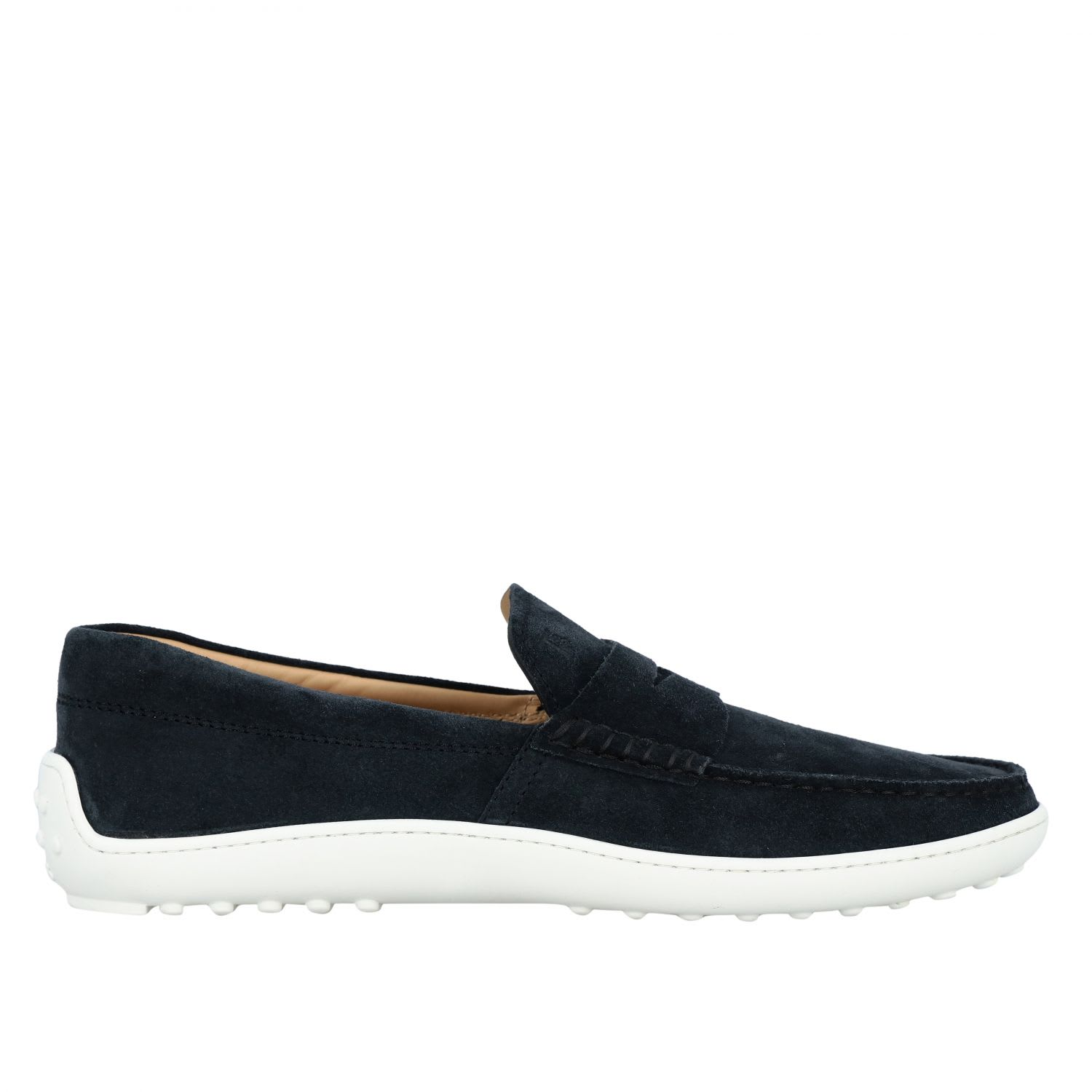 Tods Loafers Tods Slipper Sneakers In Suede With Rubber Sole