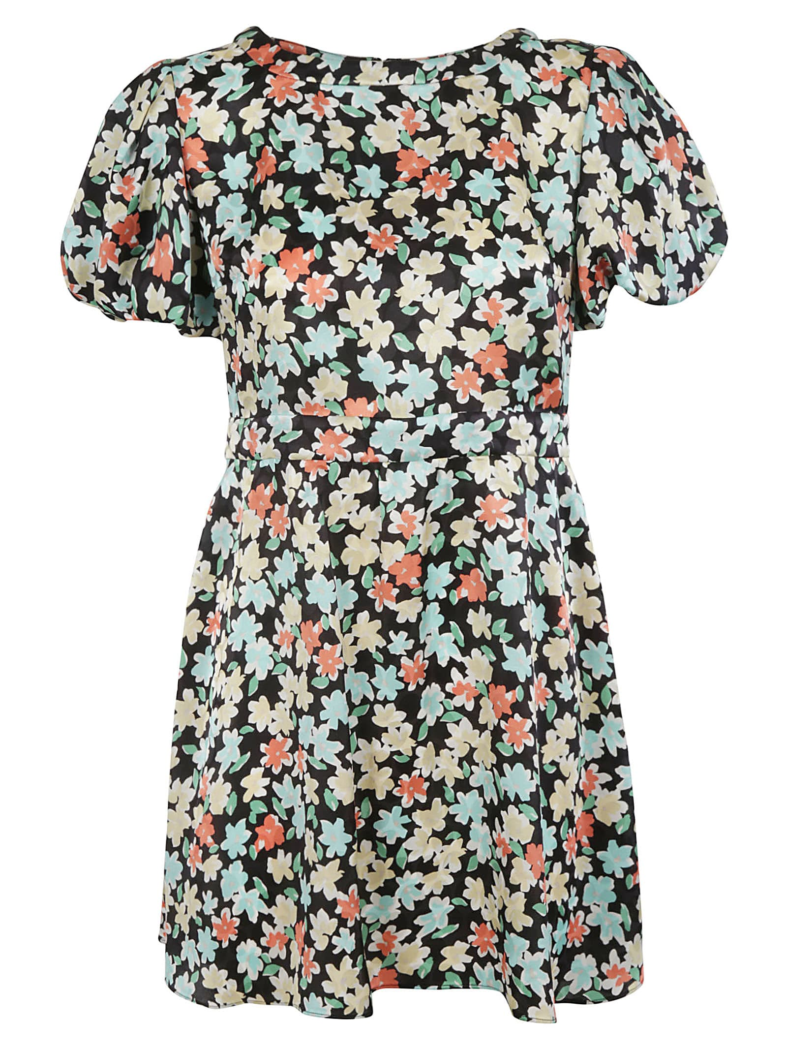Buy Floral Print Dress online, shop Saint Laurent with free shipping