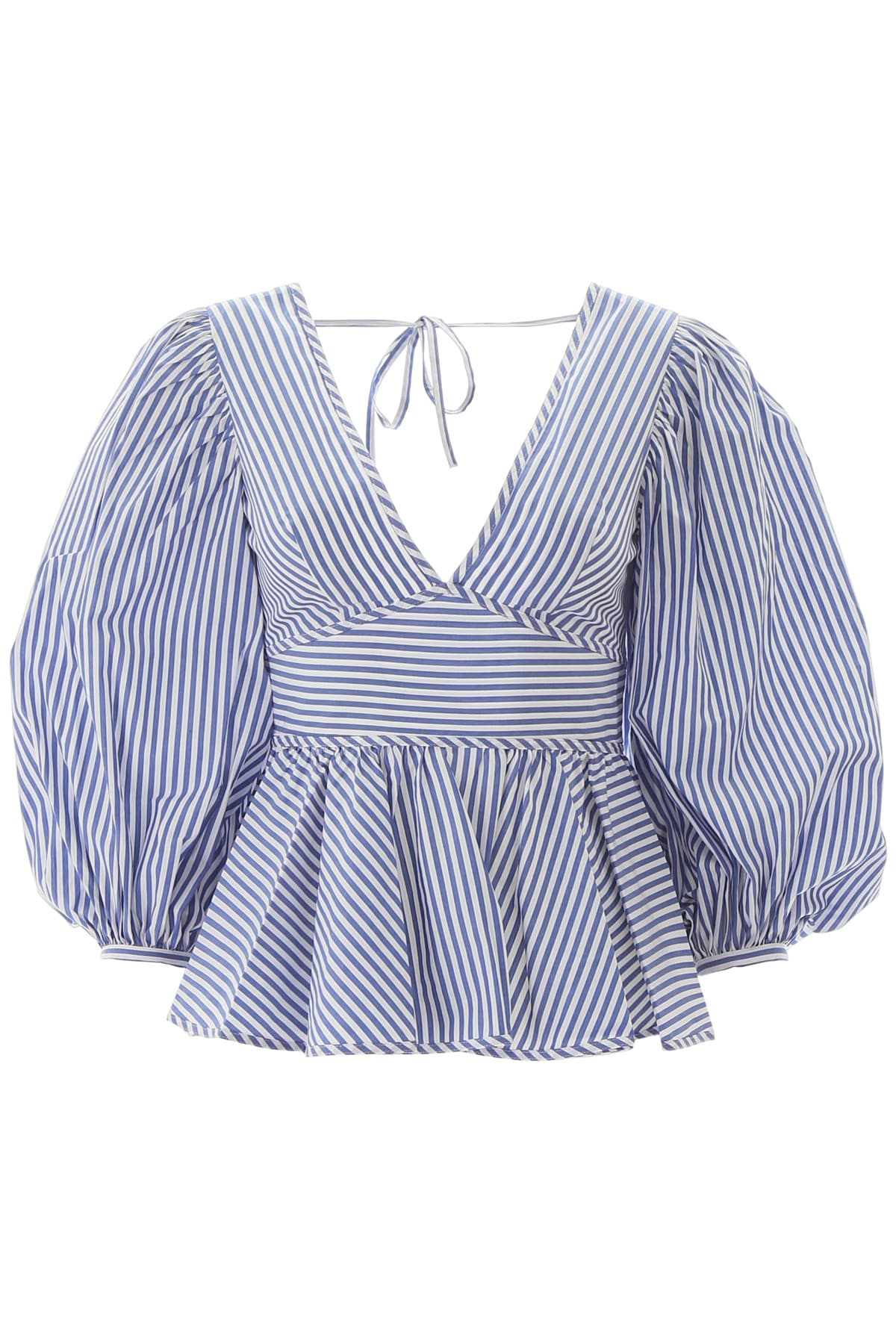 Staud STRIPED LUNA TOP