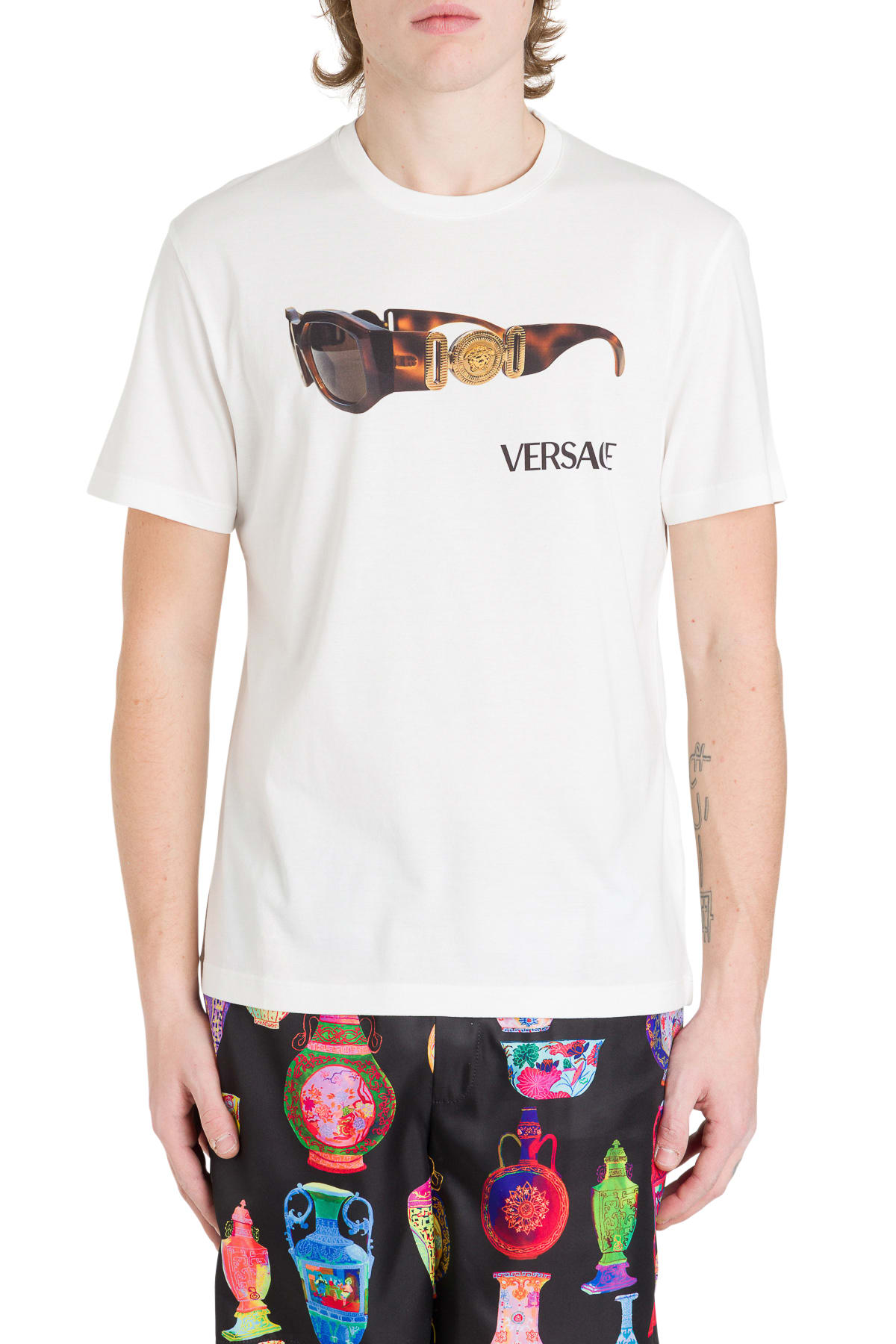 Versace Tops PRINTED T-SHIRT