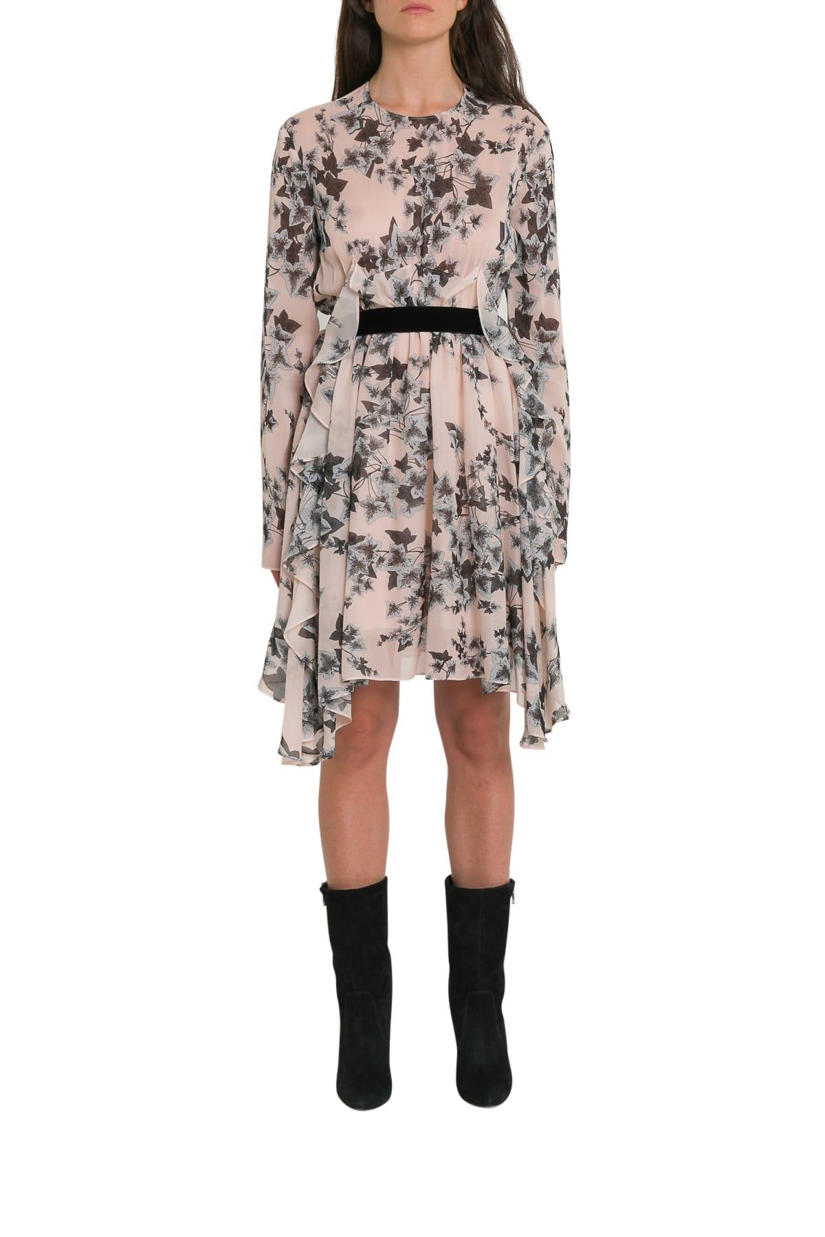Philosophy di Lorenzo Serafini Floral Print Silk Dress