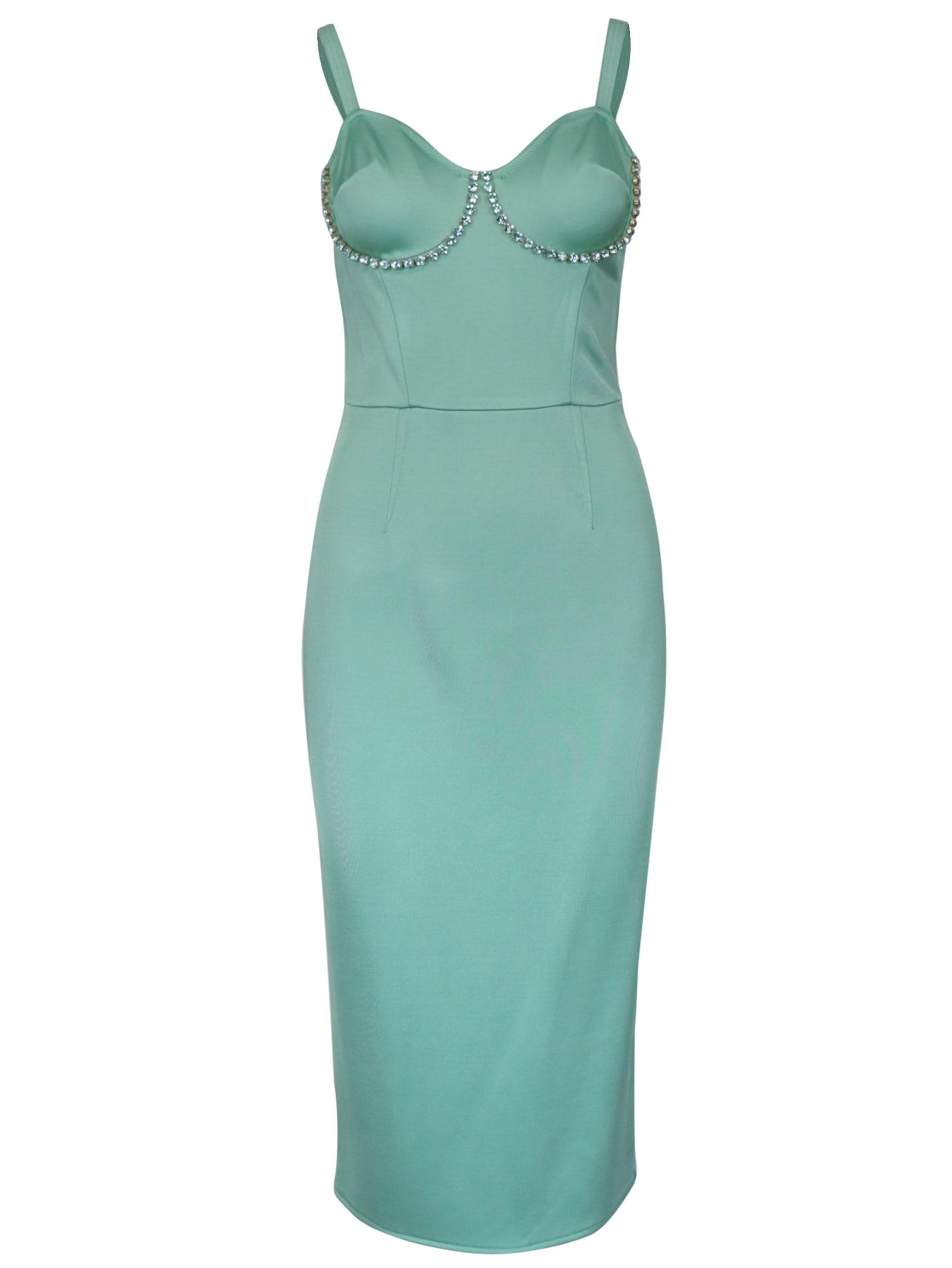 Buy Elisabetta Franchi Celyn B. Vyscose Longuettes Dress online, shop Elisabetta Franchi Celyn B. with free shipping