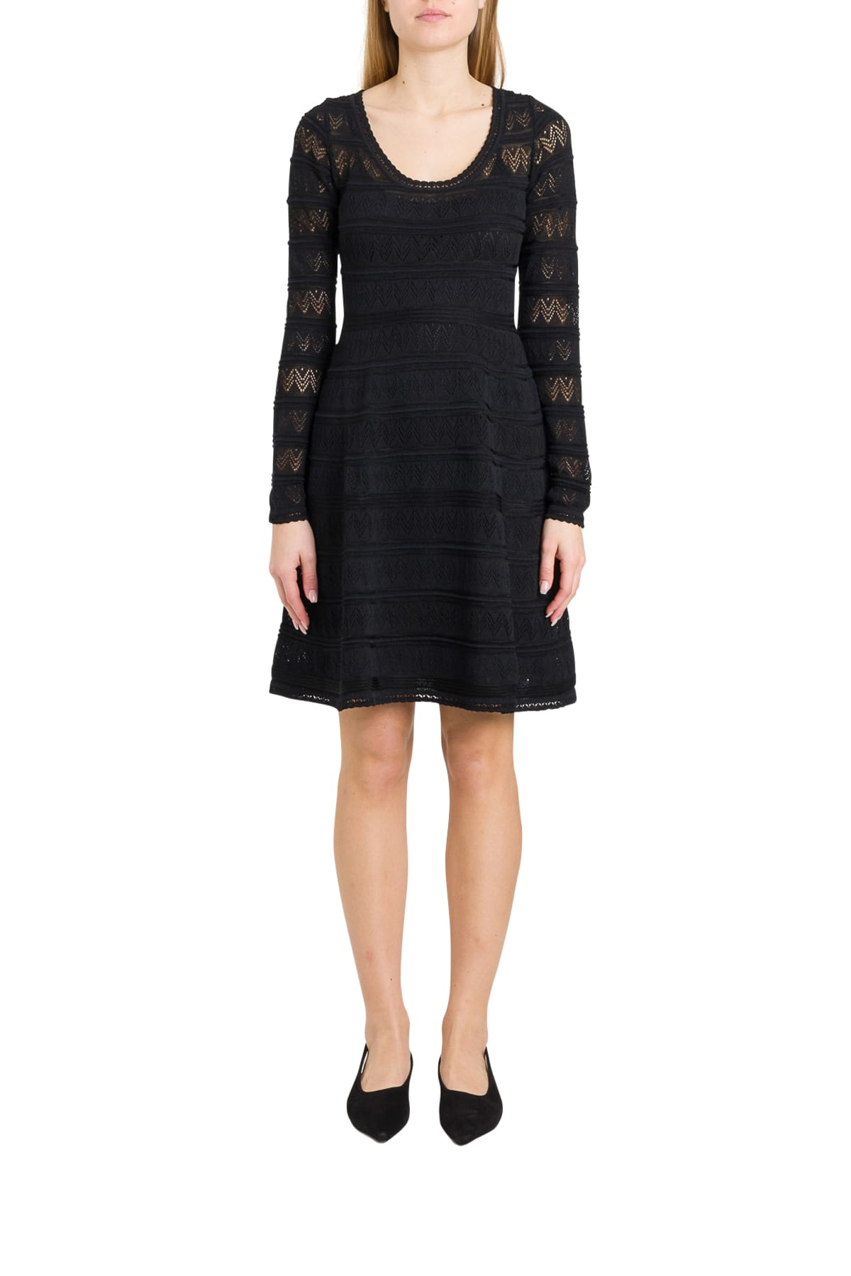 Buy M Missoni Openwork Knit Dress online, shop M Missoni with free shipping