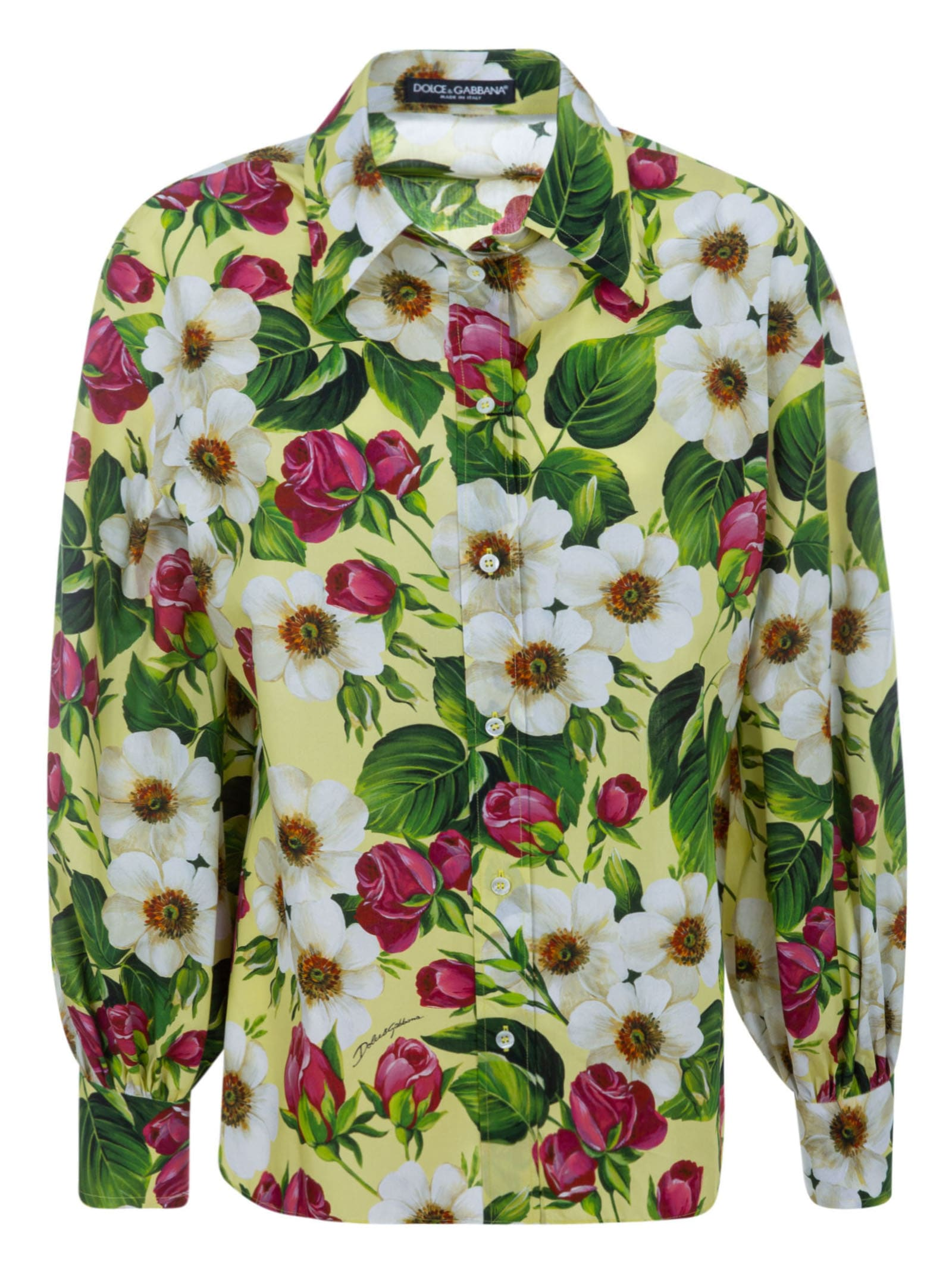 Dolce & Gabbana All-over Floral Print Shirt