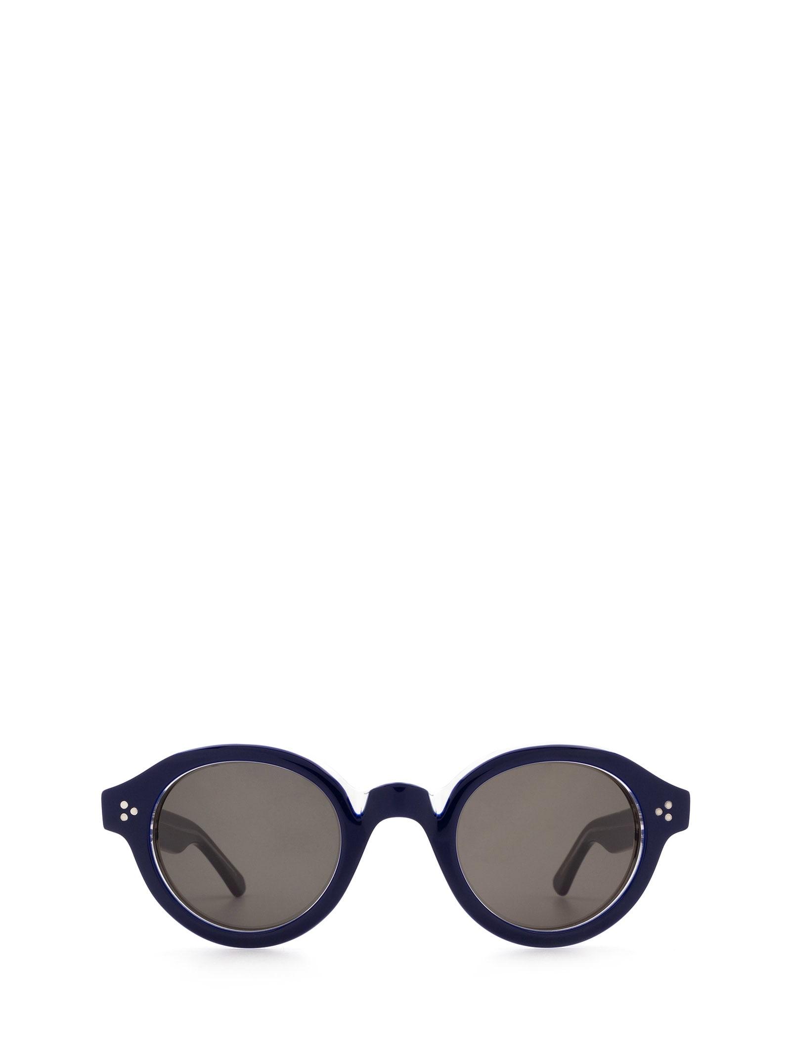 Lesca Lesca La Corbs Blue Sunglasses