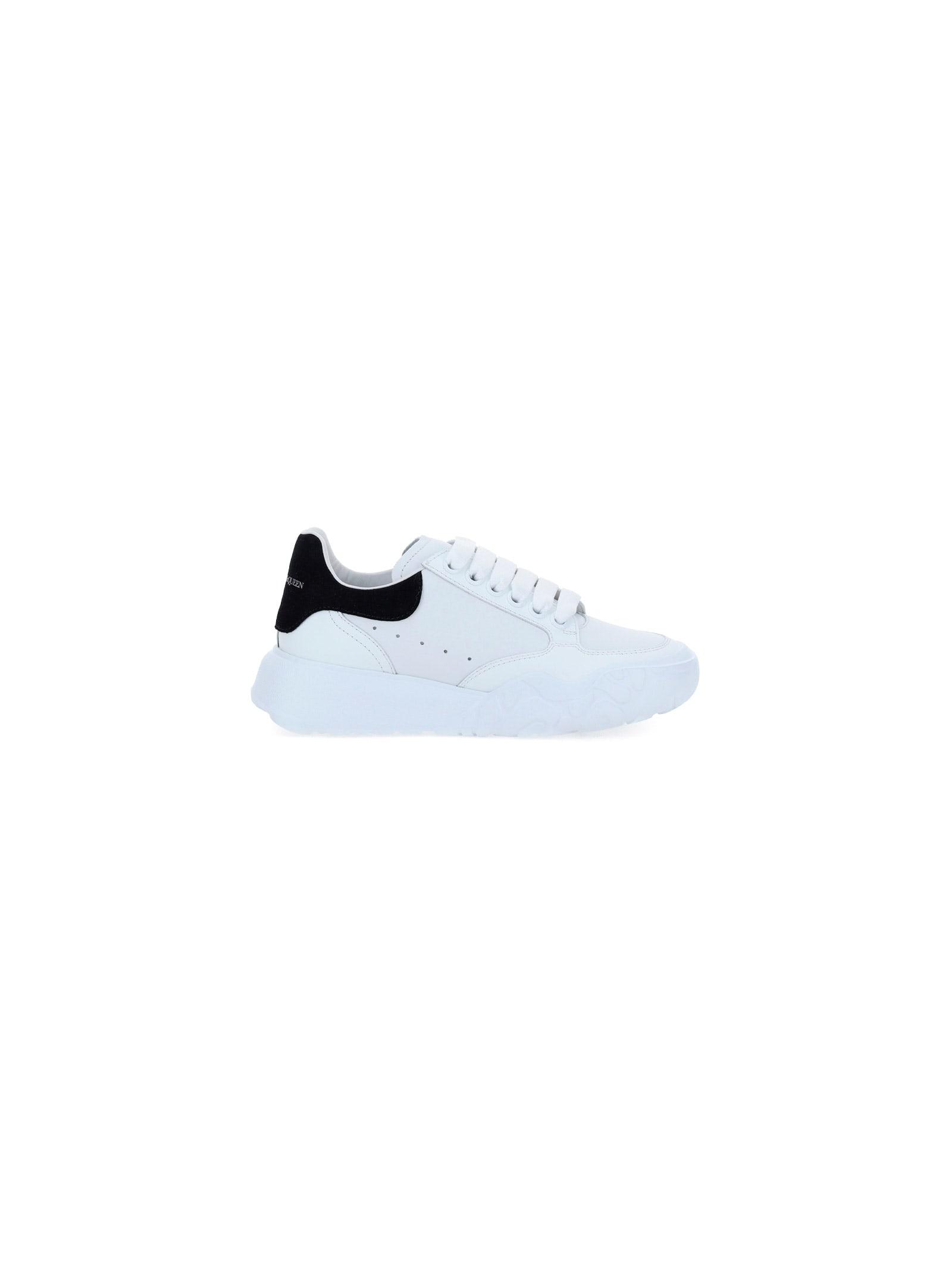 Buy Alexander McQueen Court Low-top Sneakers online, shop Alexander McQueen shoes with free shipping