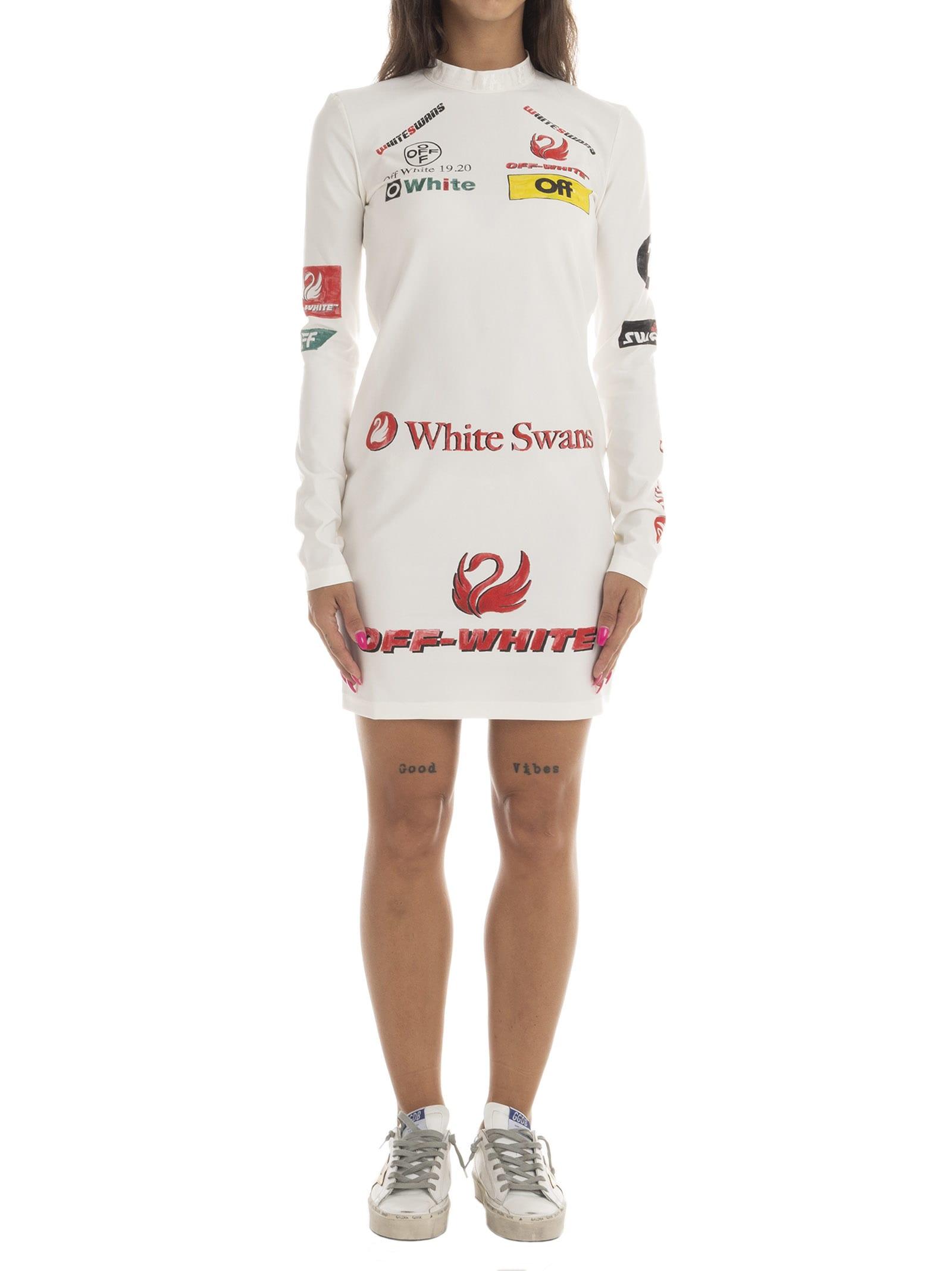 Off-White Multilogo Sporty Dress