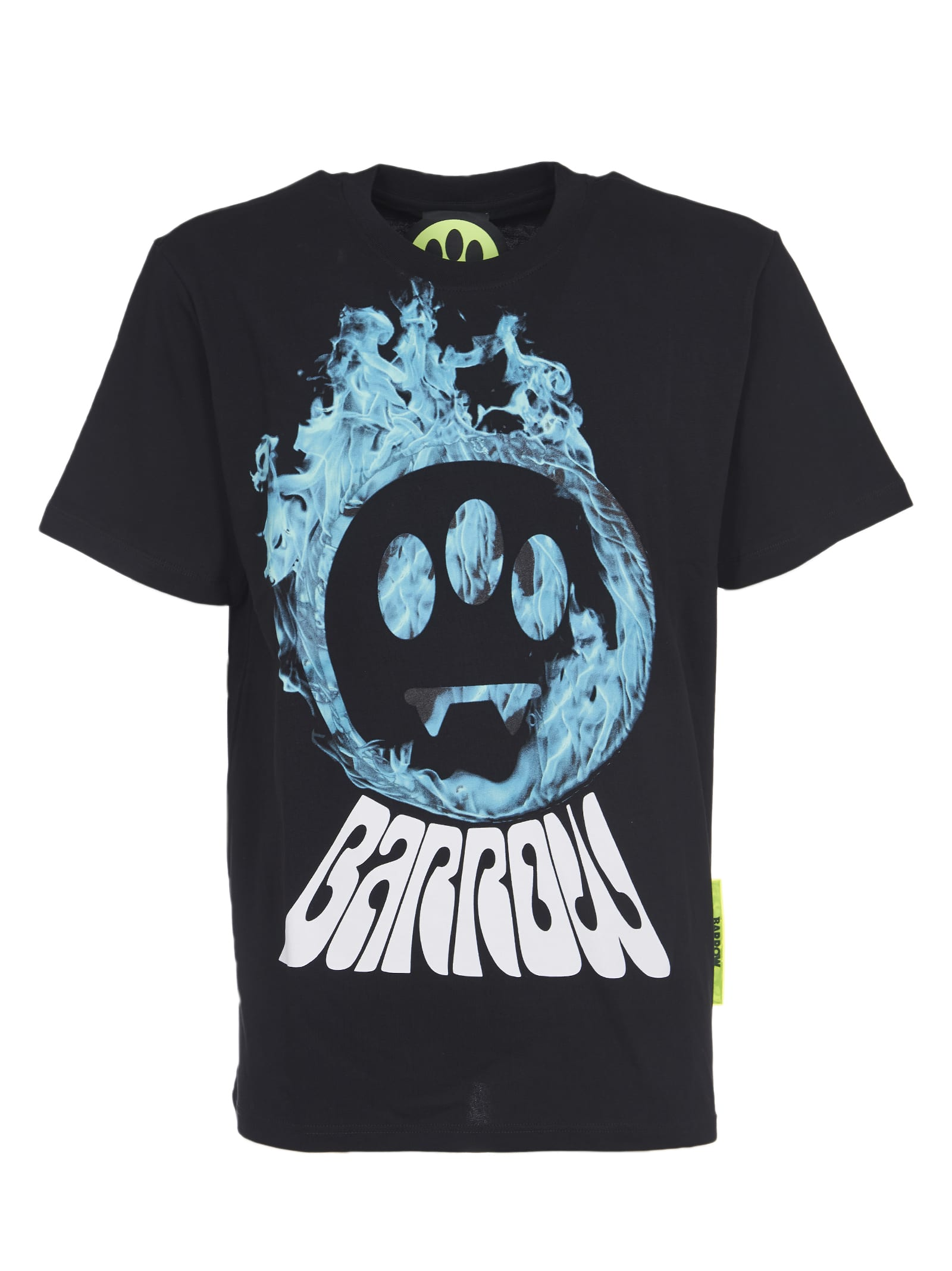 Barrow T-shirts BLACK T-SHIRT WITH PRINT