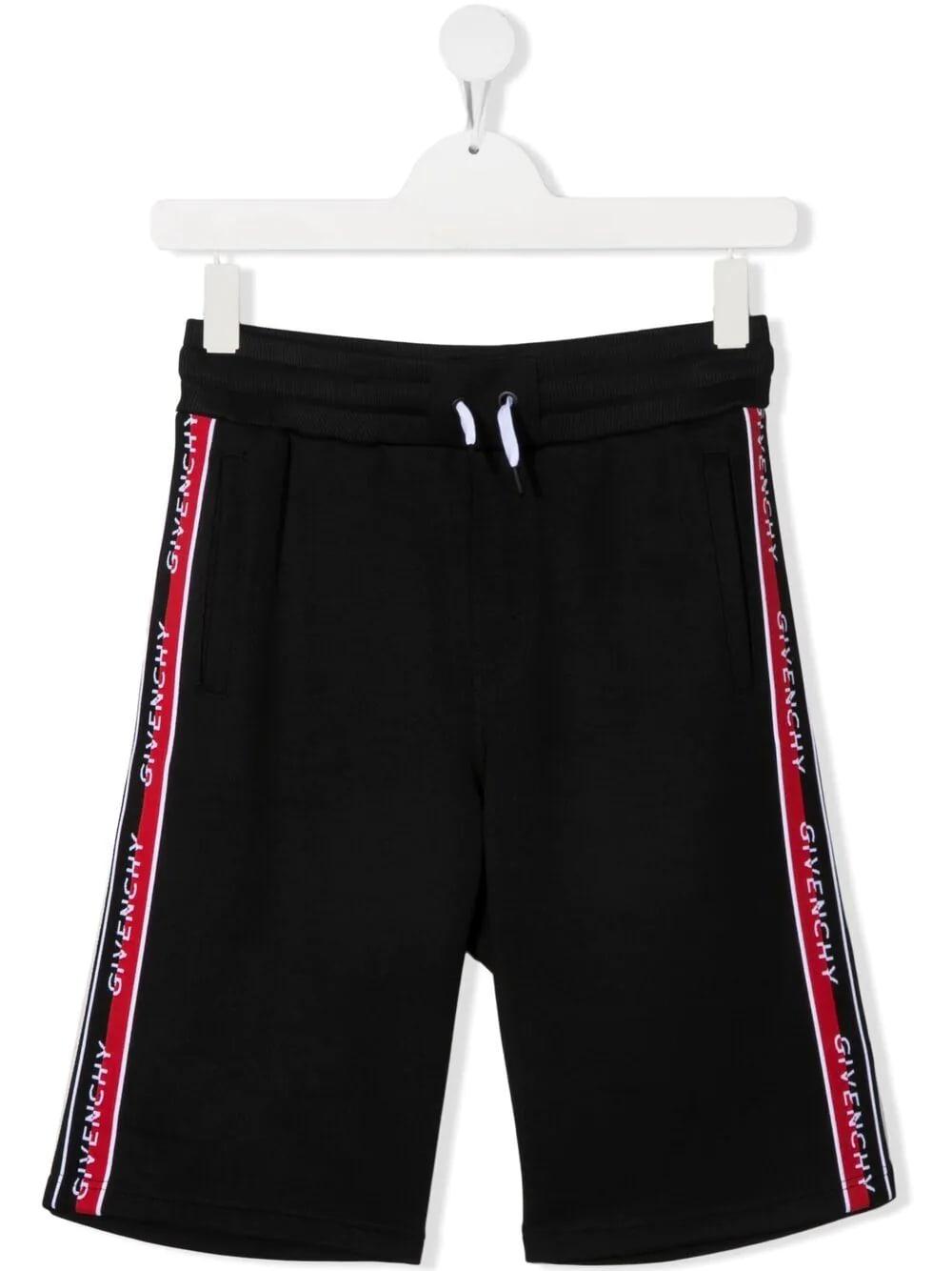 Givenchy Shorts LOGO-TRIM SHORTS