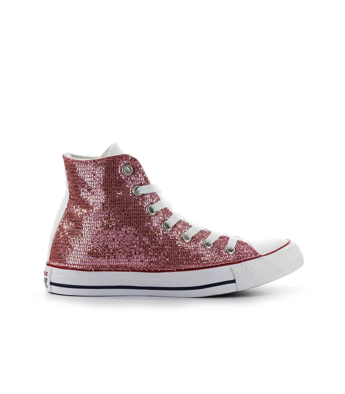 Converse Chuck Taylor All Star Pink Glitter Sneaker In Rosa (pink ...