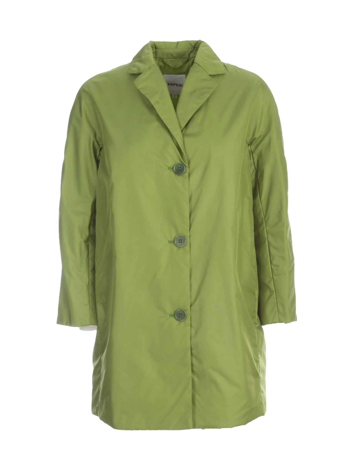 Aspesi Thermore Trench In Green