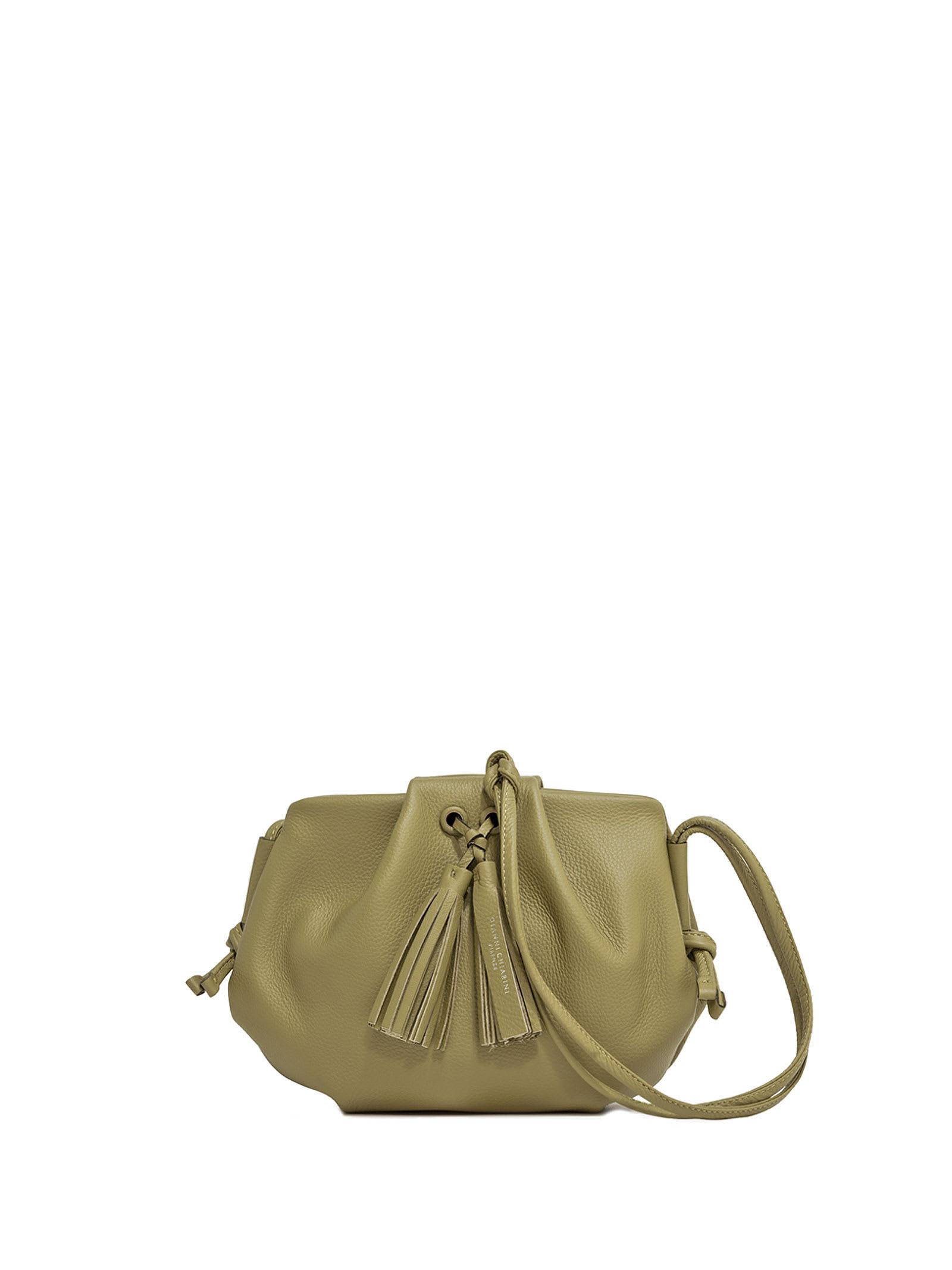 Flora Green Shoulder Bag