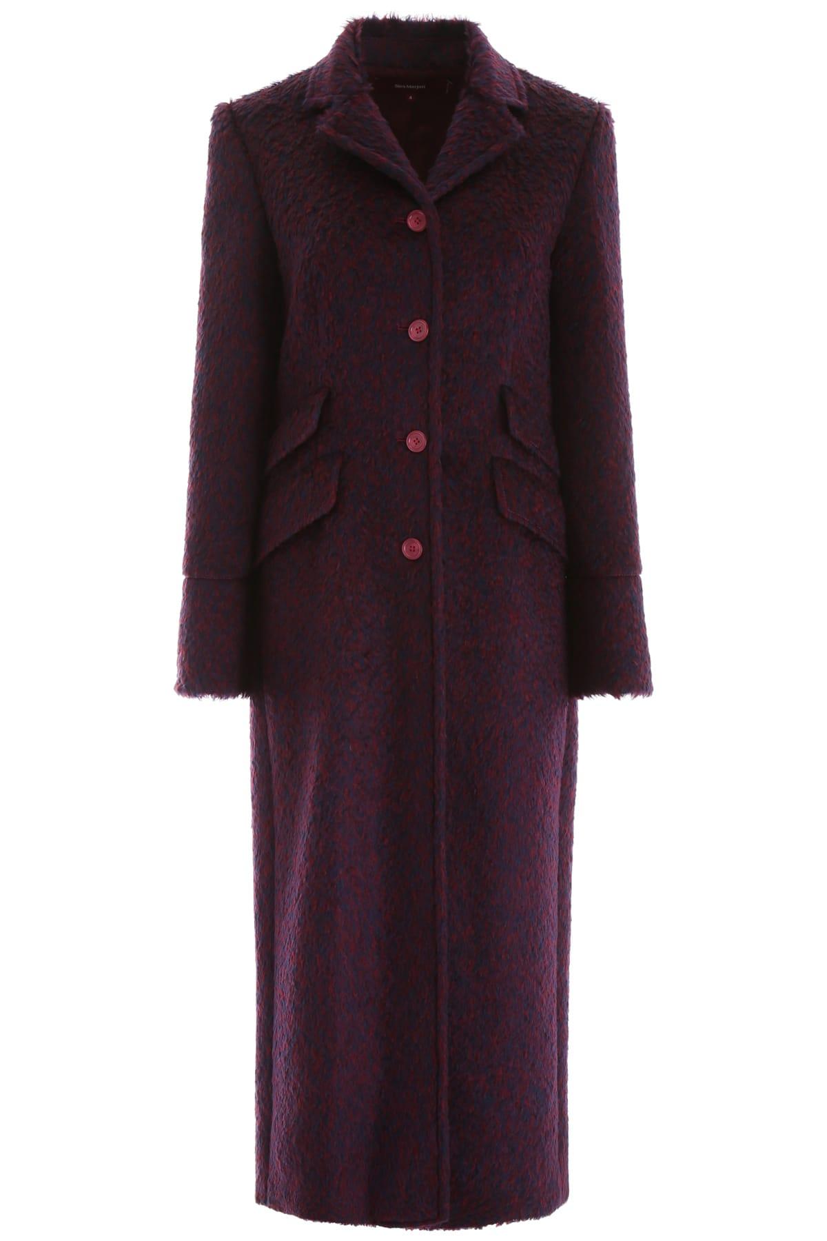 Sies Marjan Bicolor Mohair Coat