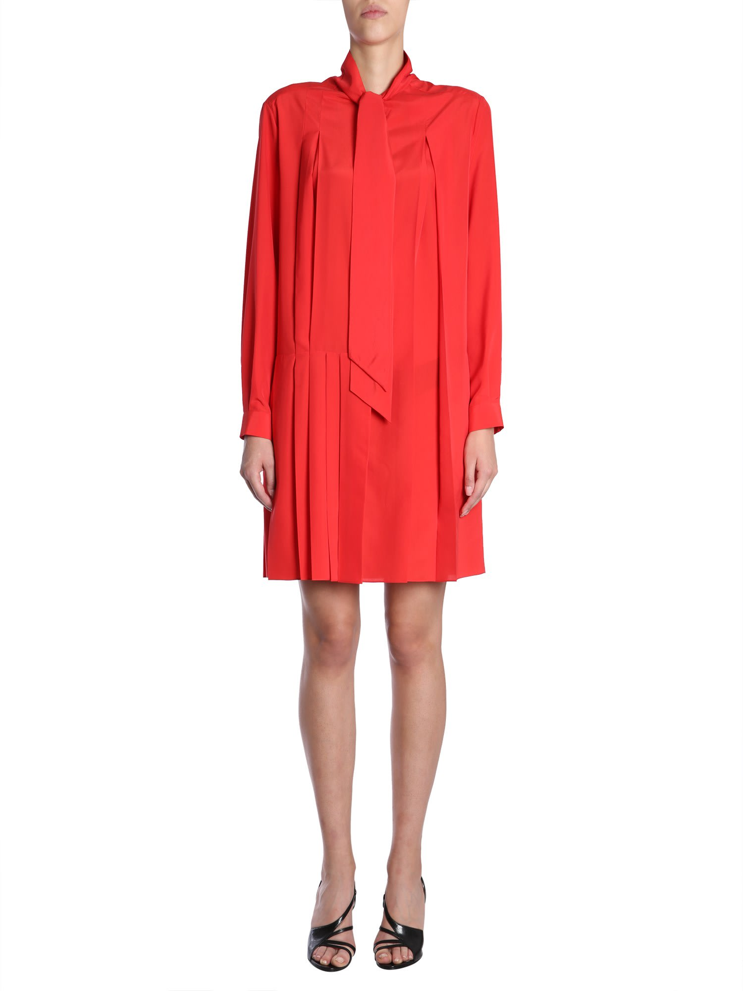 Buy Givenchy Crepe De Chine Silk Shirt Dress online, shop Givenchy with free shipping