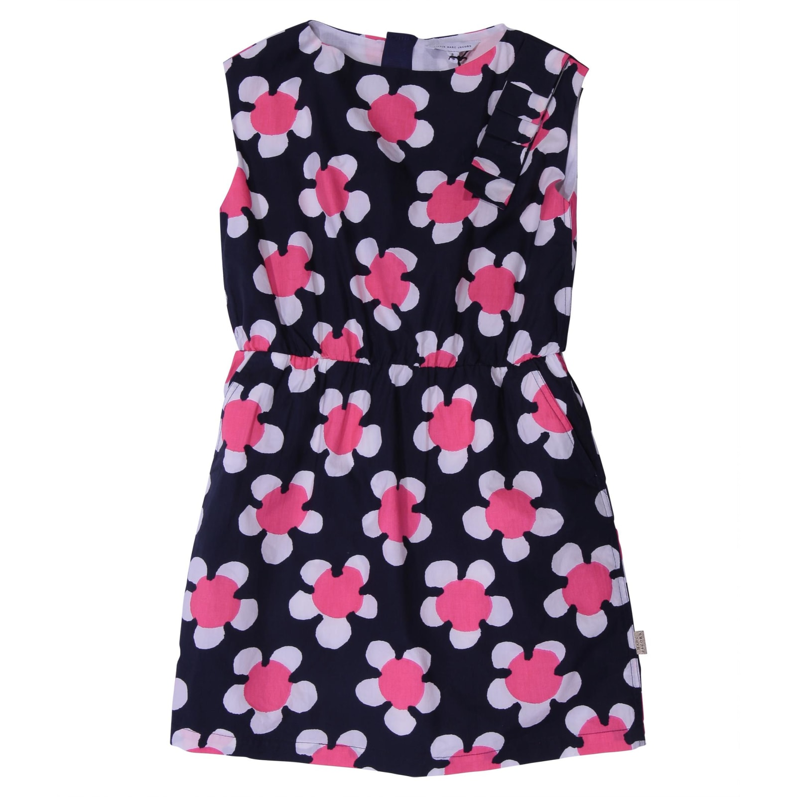 Little Marc Jacobs Printed Cotton Dress