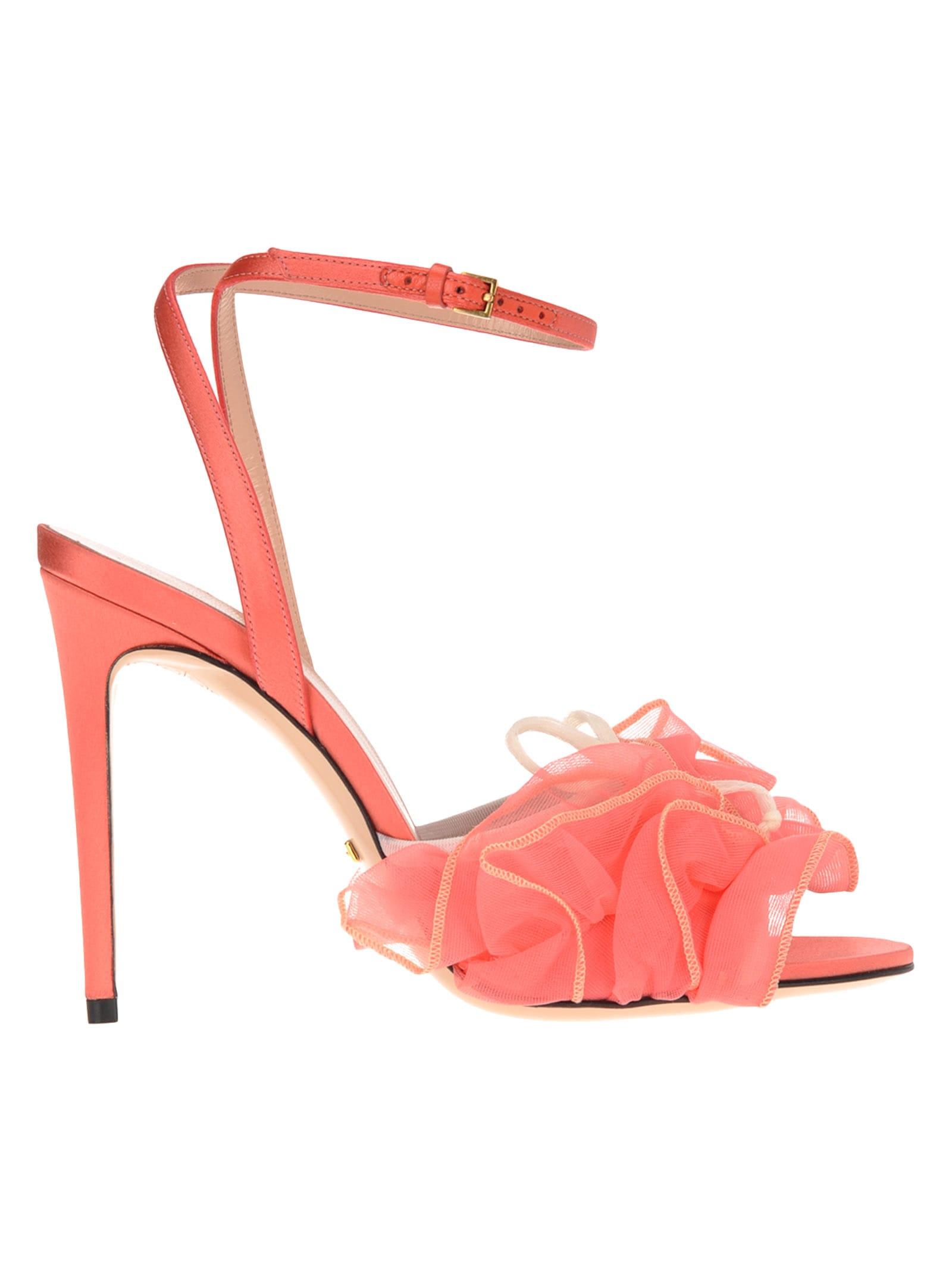 Gucci Gucci Tulle Sandals