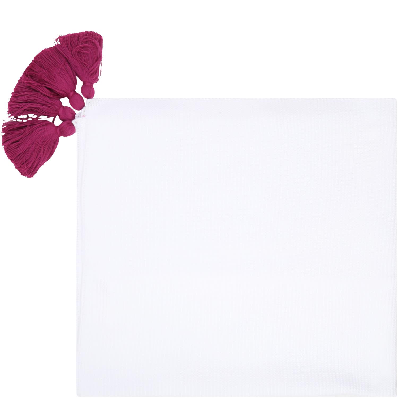 White Blanket For Babygirl