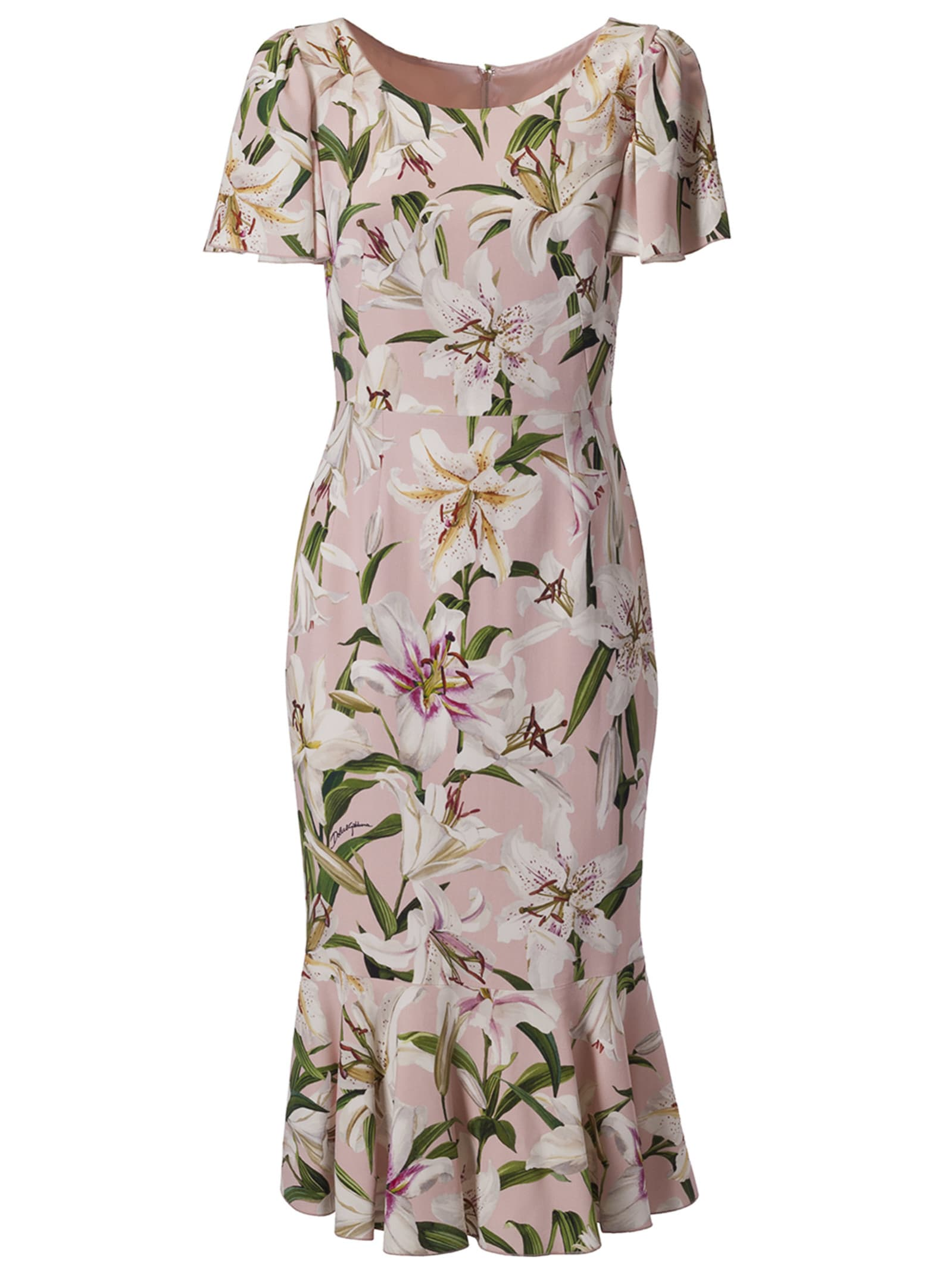 Dolce & Gabbana Flower Print Dress