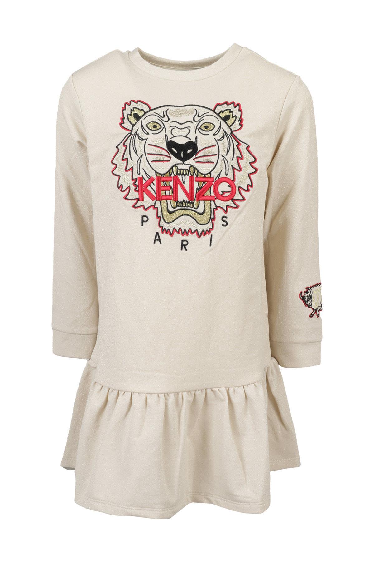 Buy Kenzo Kids Dress online, shop Kenzo Kids with free shipping
