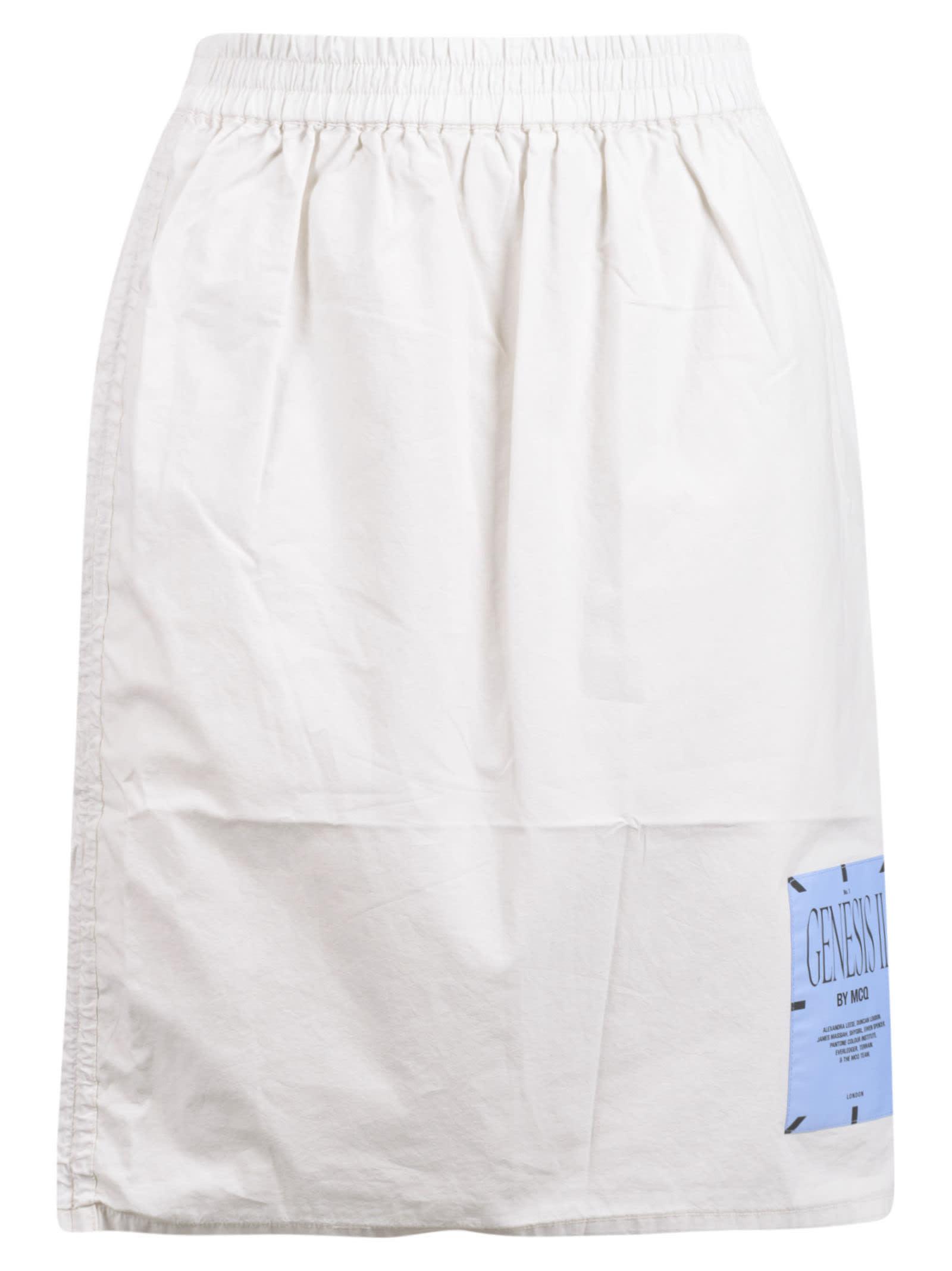 Logo Patch Skirt