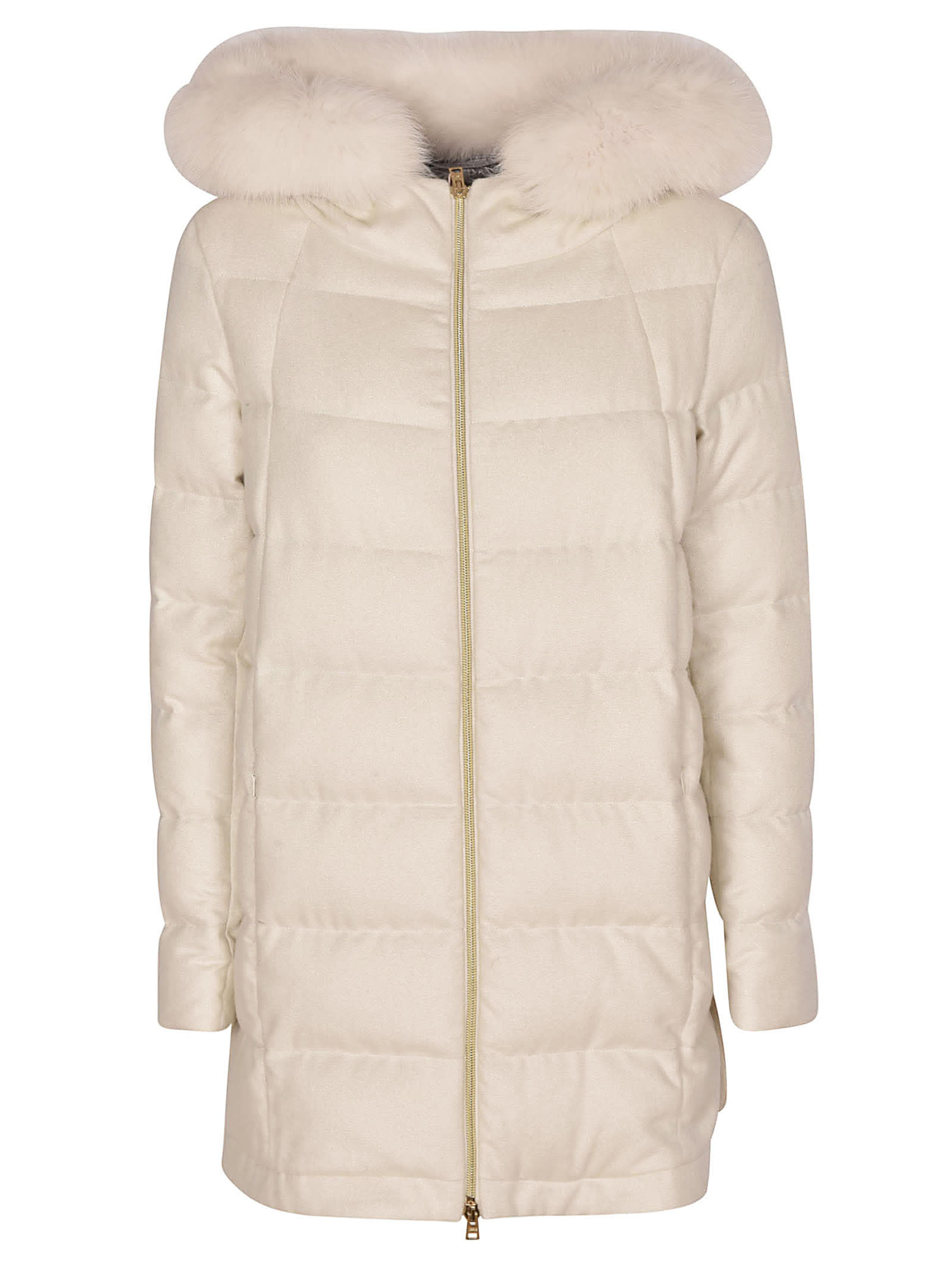 Herno Fur Hood Down Jacket