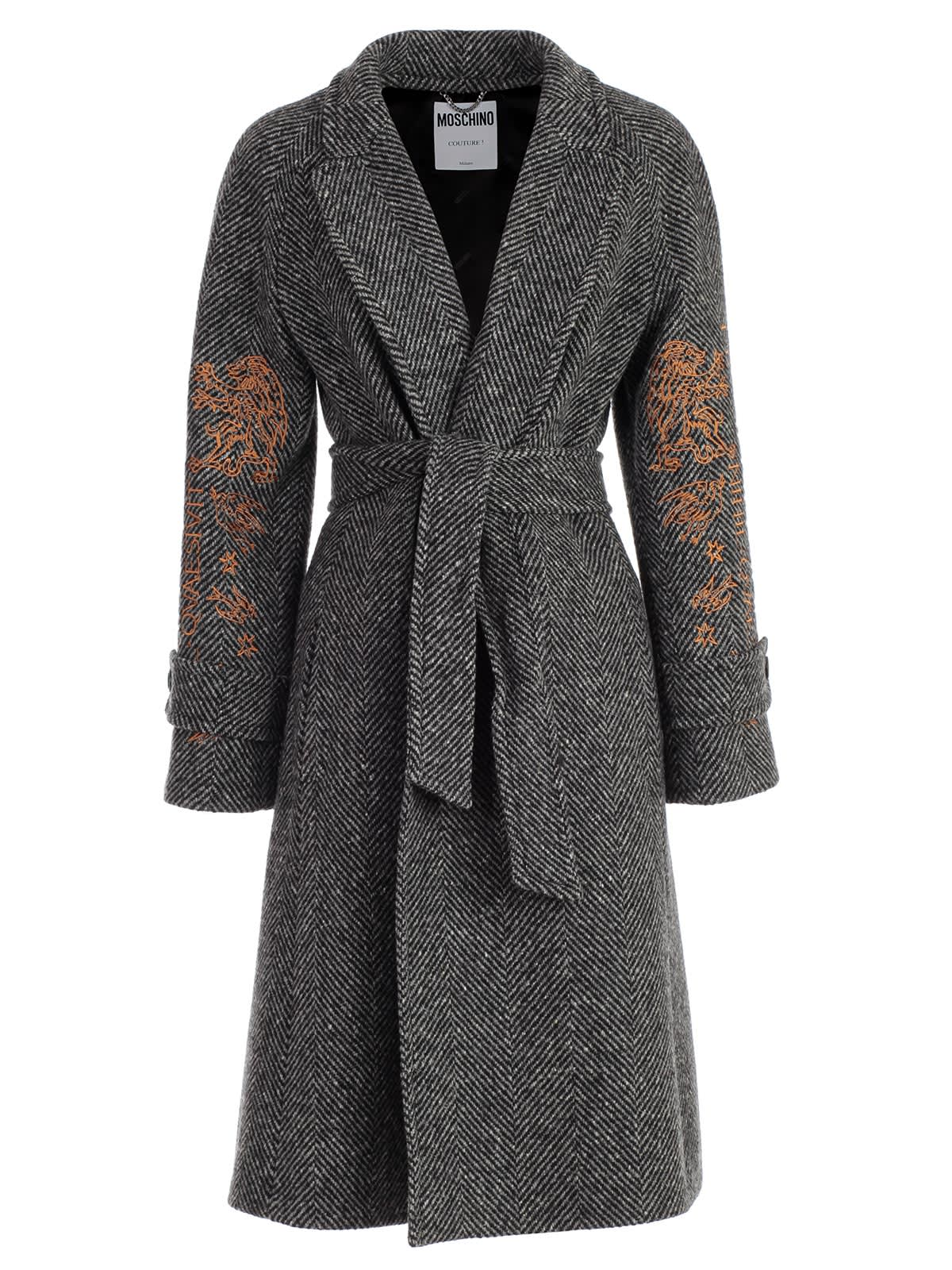 Moschino Dress L & s V Neck