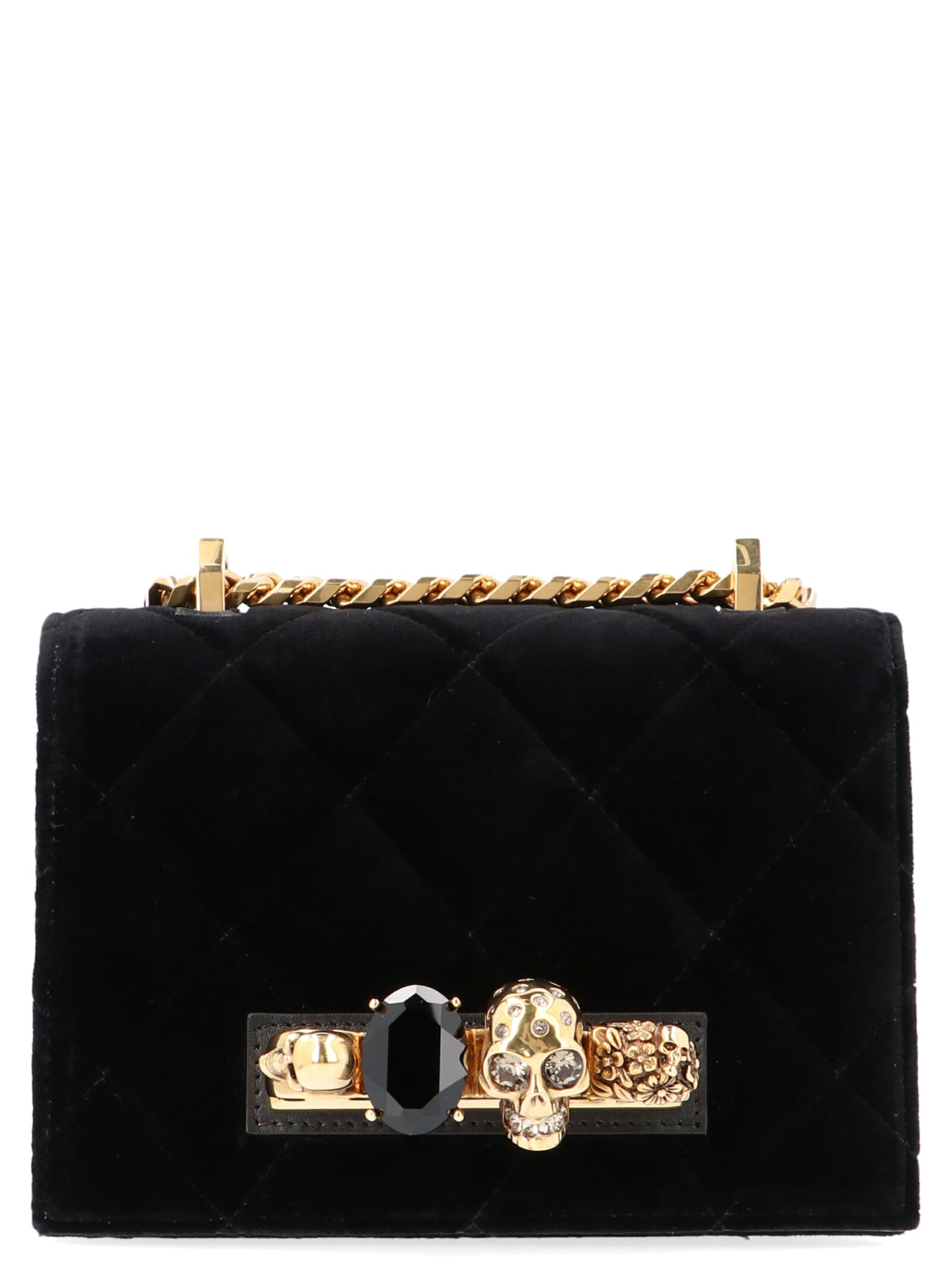 bright n colour preview of united states Best price on the market at italist   Alexander McQueen Alexander Mcqueen  'jewel Satchel' Bag