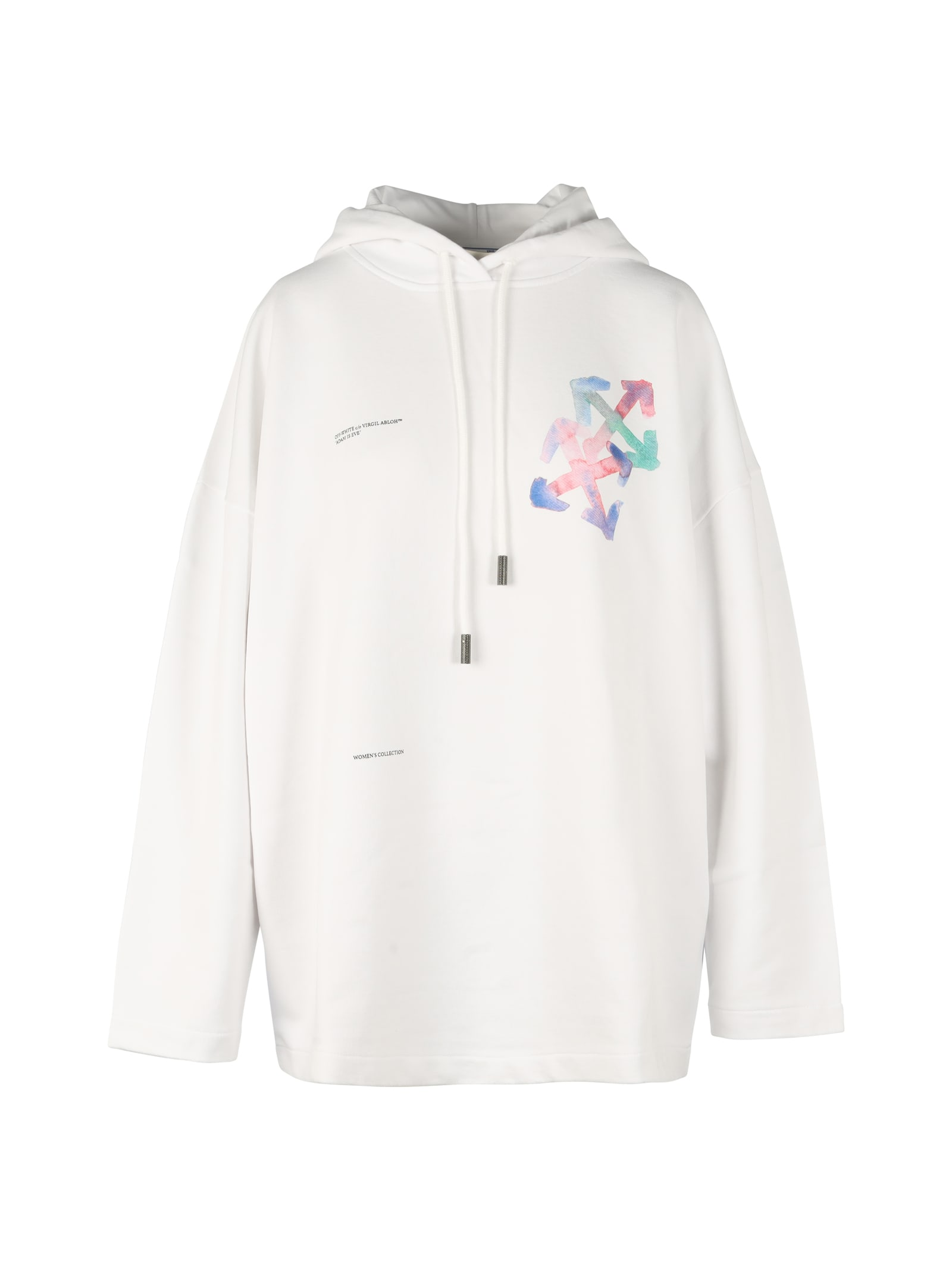 Off-White Cottons WATERCOLOR ARROWS OVER HOODIE
