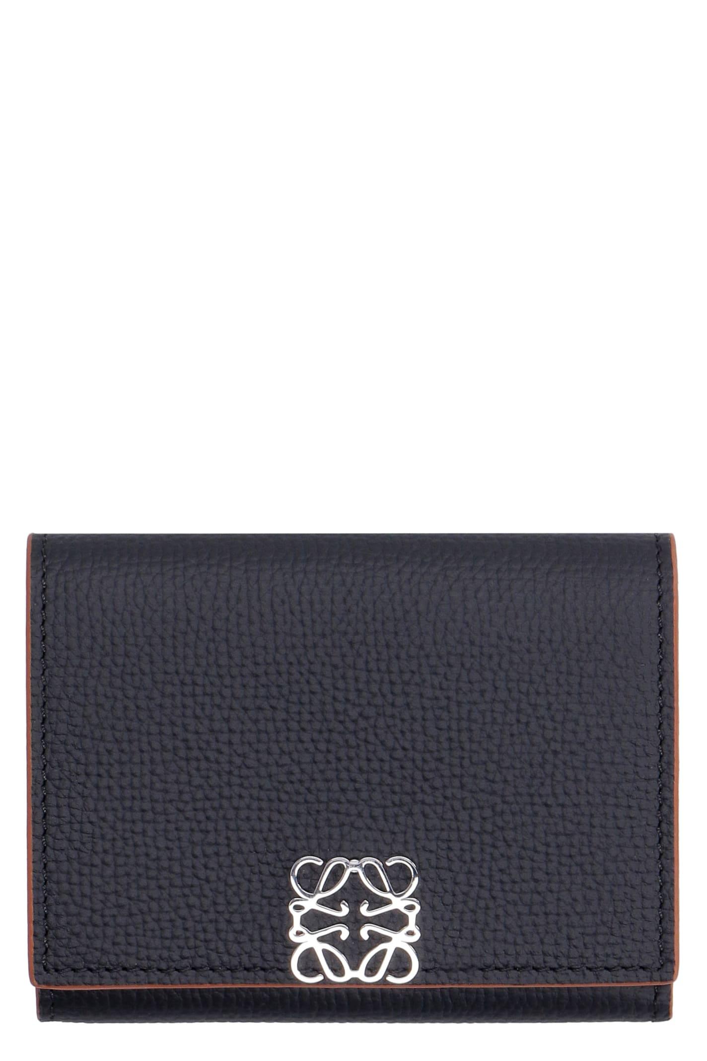 Loewe Grainy Leather Wallet