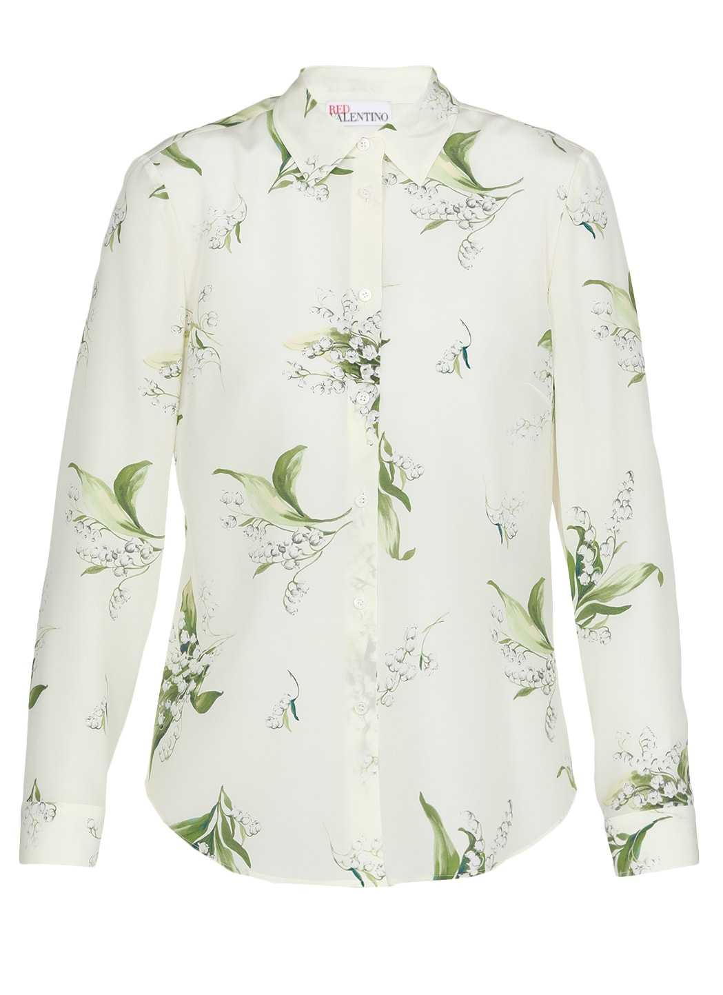 Red Valentino SILK SHIRT