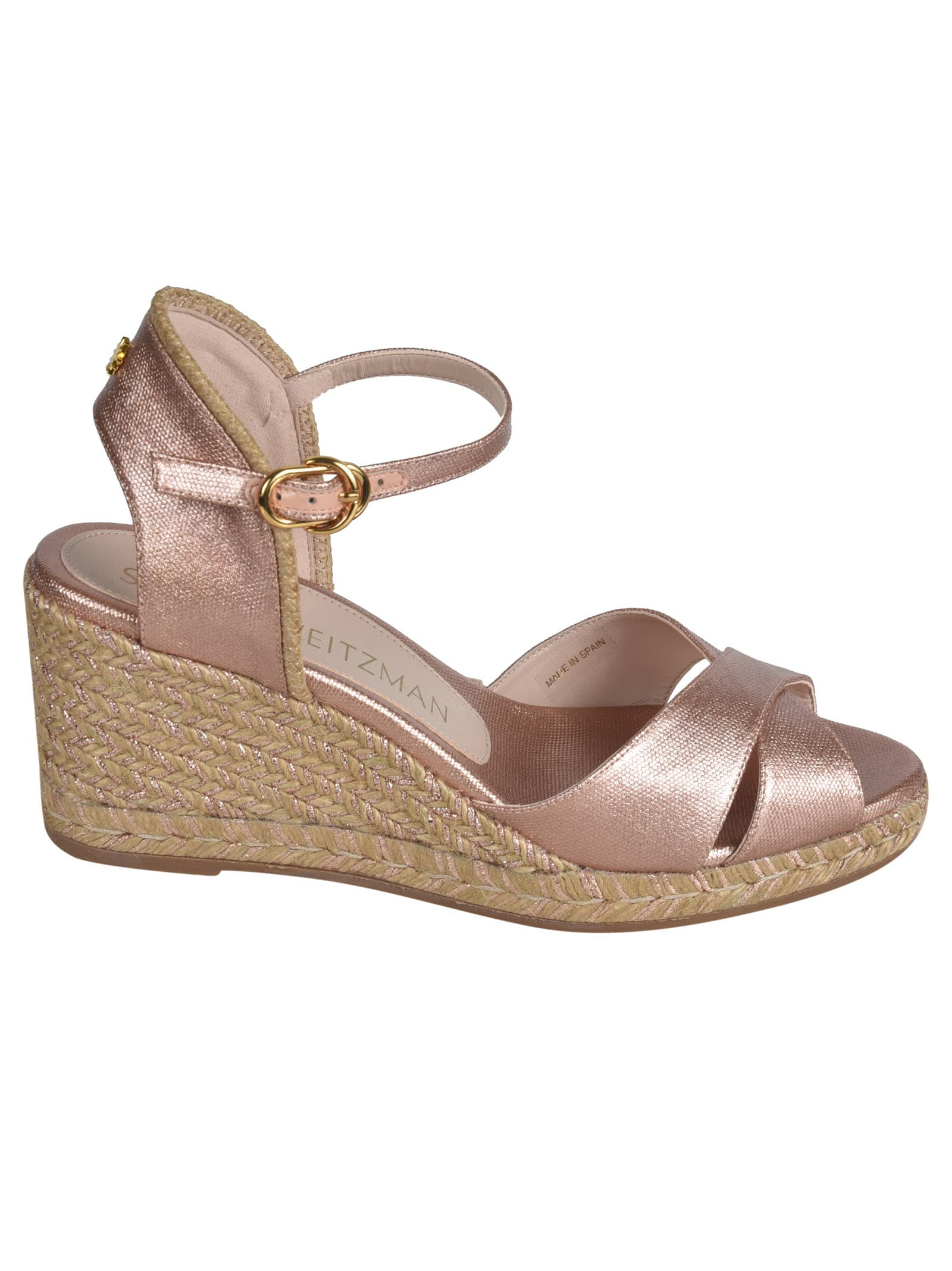 Stuart Weitzman Wedges MIRELA WEDGE SANDALS