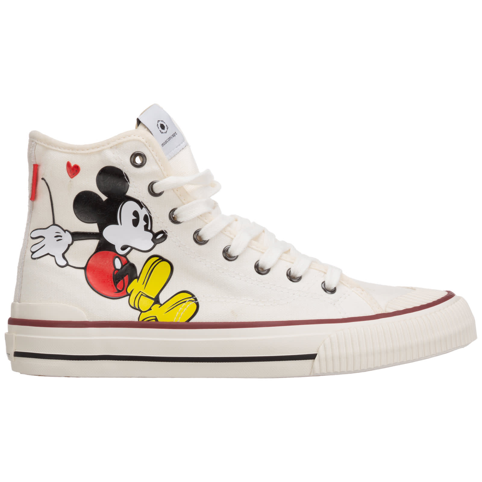 Disney Mickey Mouse High-top Sneakers