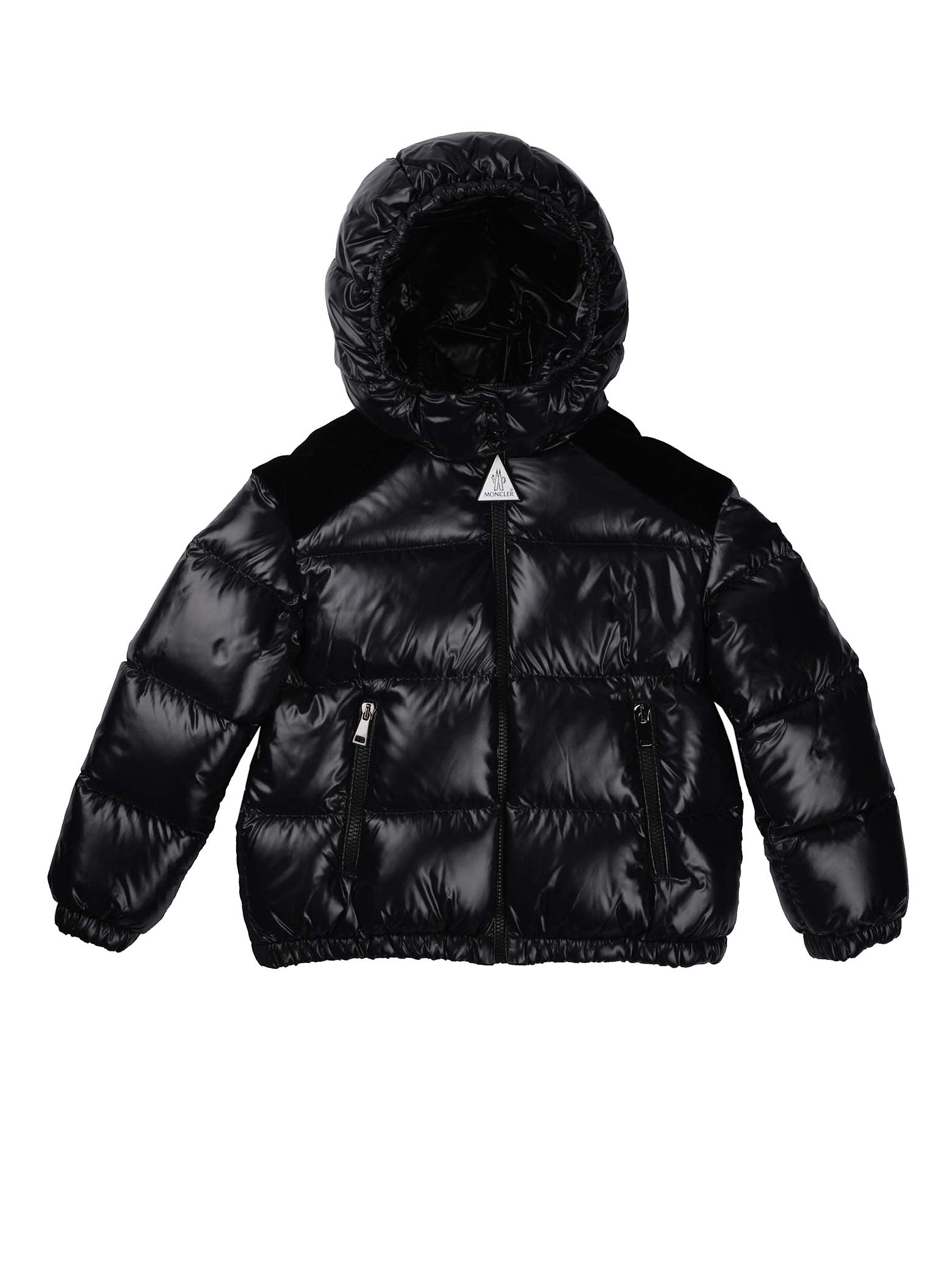 Moncler Chouelle Black Jacket With Hood