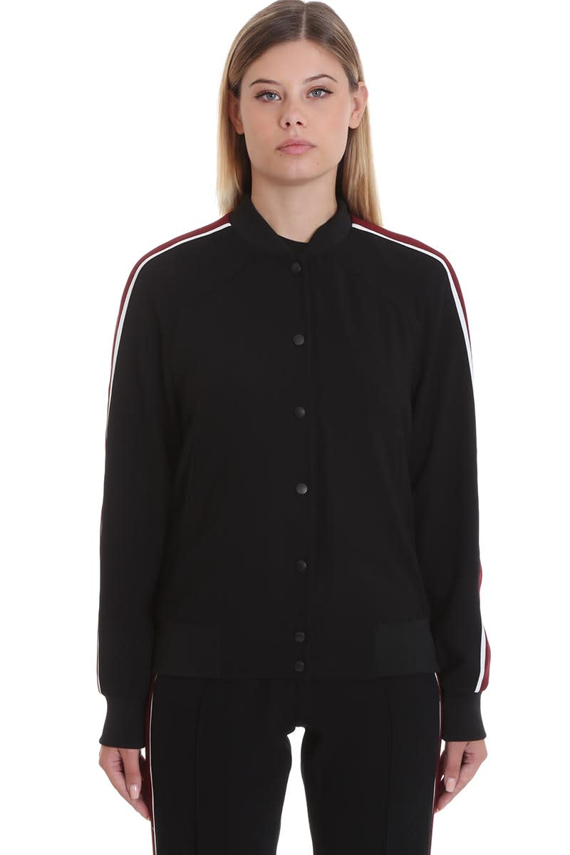 Kenzo Bomber In Black Tech/synthetic