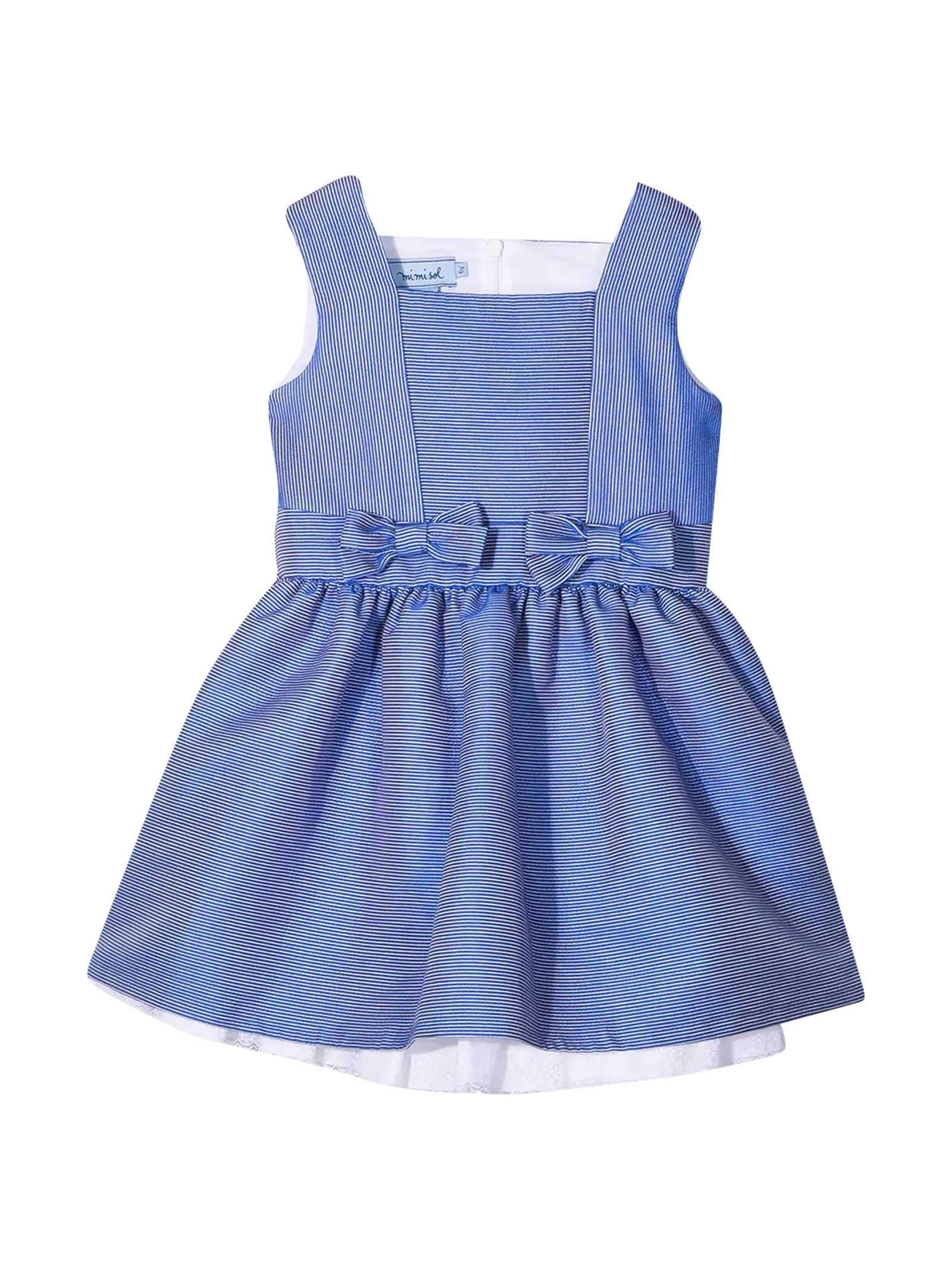 Blue Dress Mi Mi Sol Kids