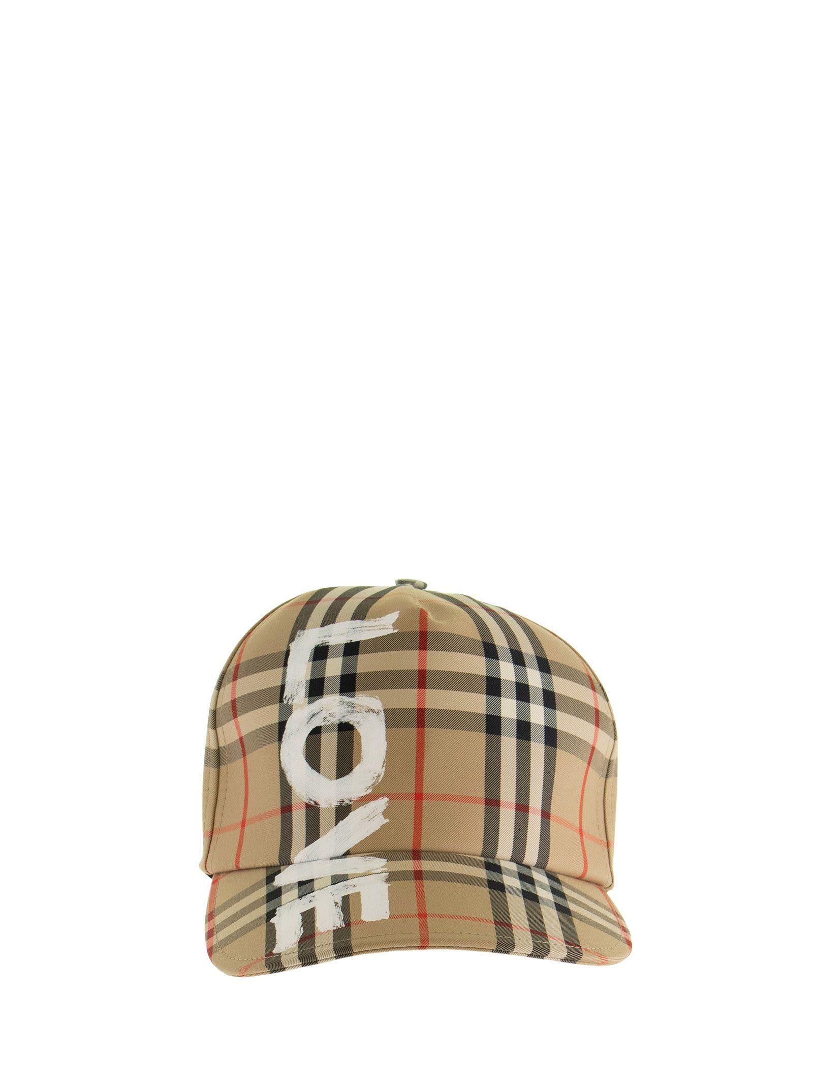 Burberry Caps LOVE PRINT VINTAGE CHECK BASEBALL CAP