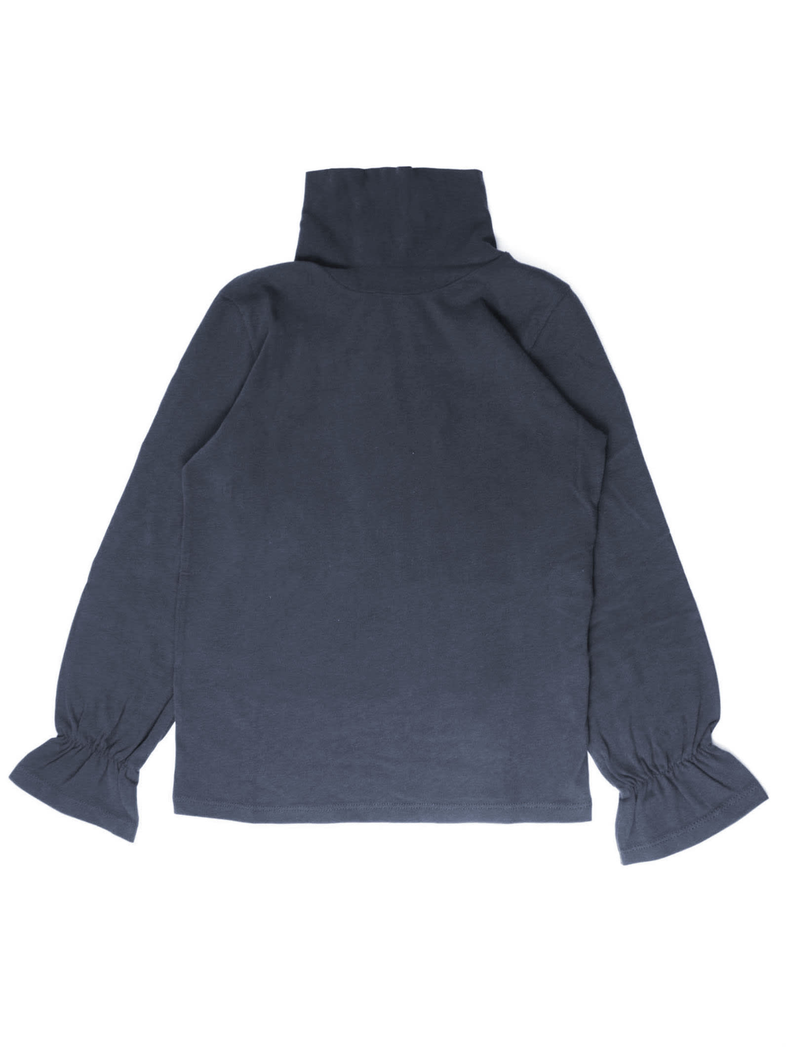 Blue Cotton Sweater